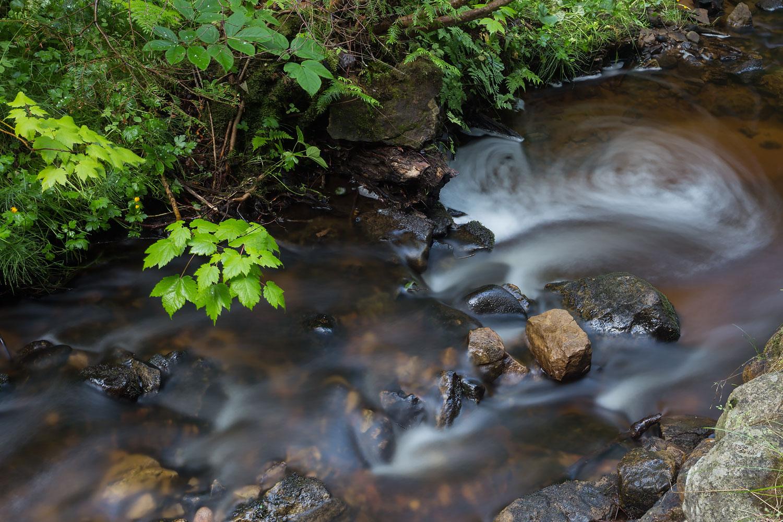 Swirl along the Munising River - Munising, MI  Canon 6D + Canon 17-40mm L
