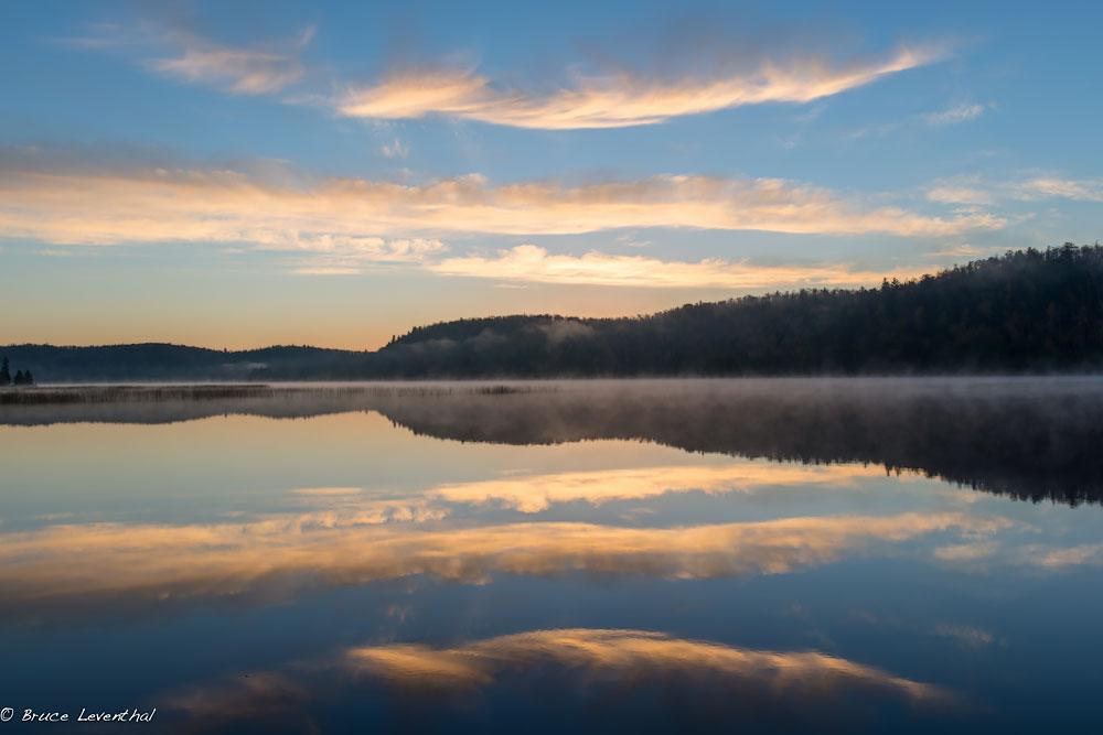 Sunset on Lax Lake, MN - Nikon D800E & Nikkor 28mm f1.8G AF-S