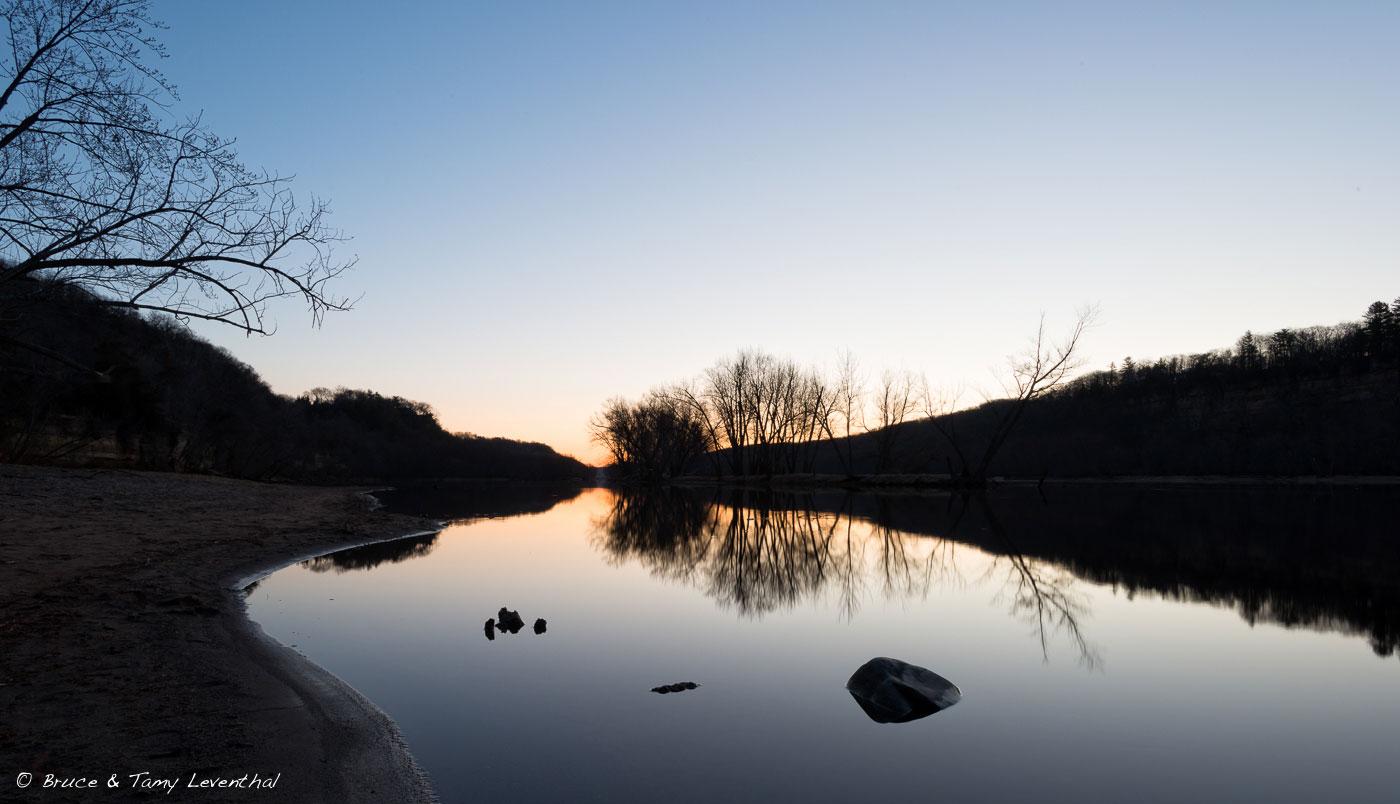 Sunrise on the St. Croix River  Nikon D800E + Nikon 17-35mm f2.8 AFS