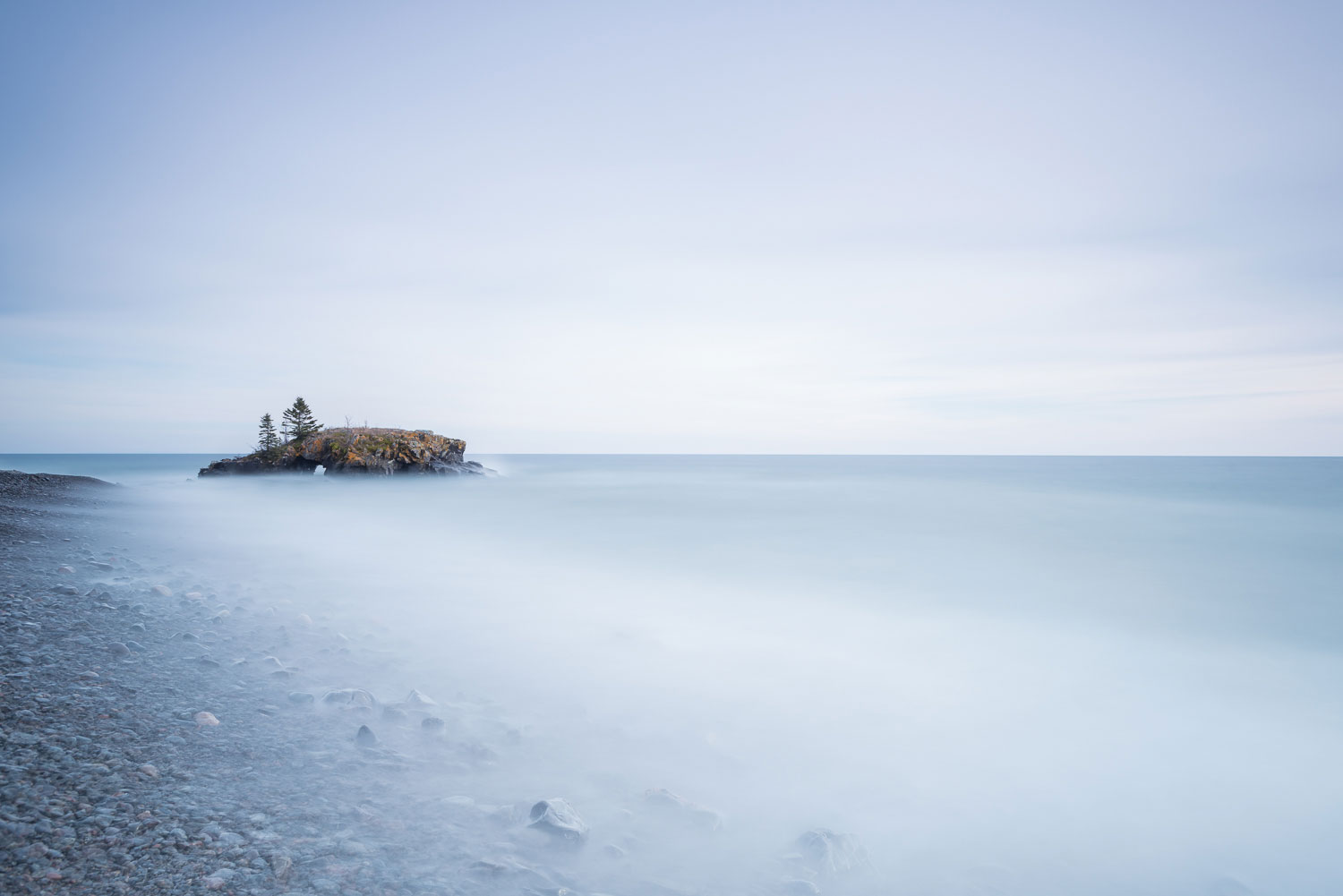 Hollow Rock - Grand Portage, MN  Nikon D800E + Nikon 17-35mm f2.8