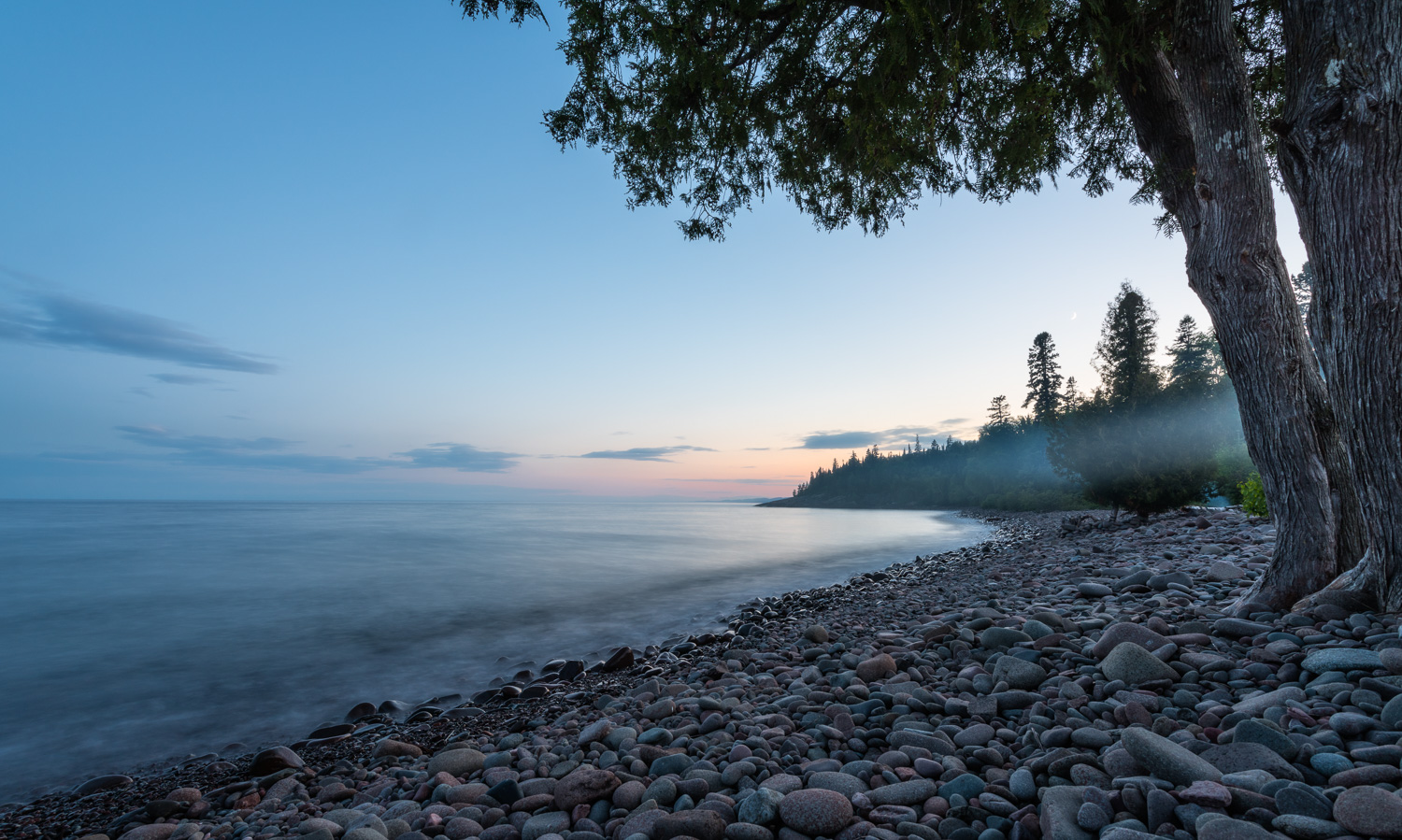 Sunset on the North Shore - Grand Marais, Minnesota