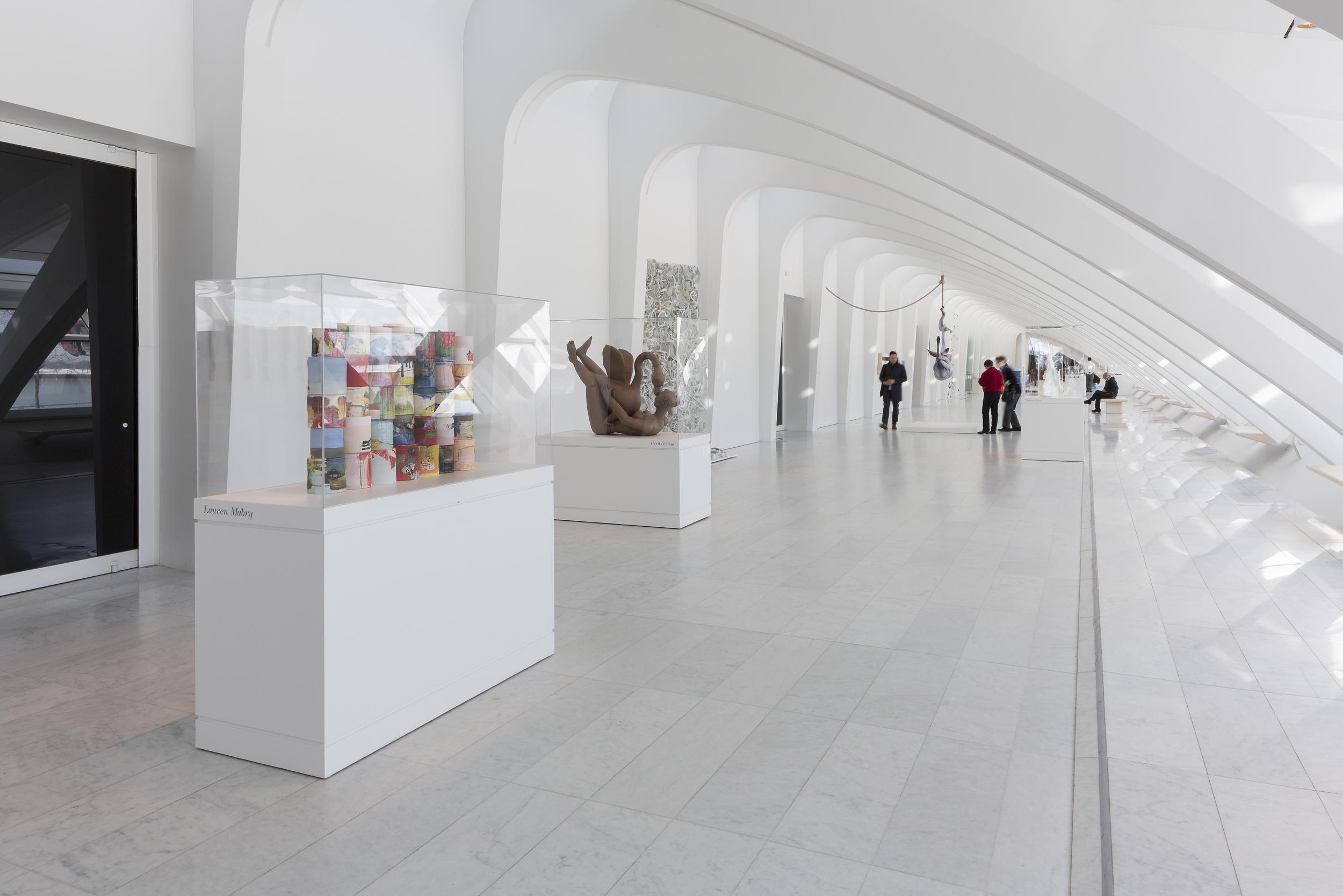 Milwaukee Museum of Art. Flow , 2014.