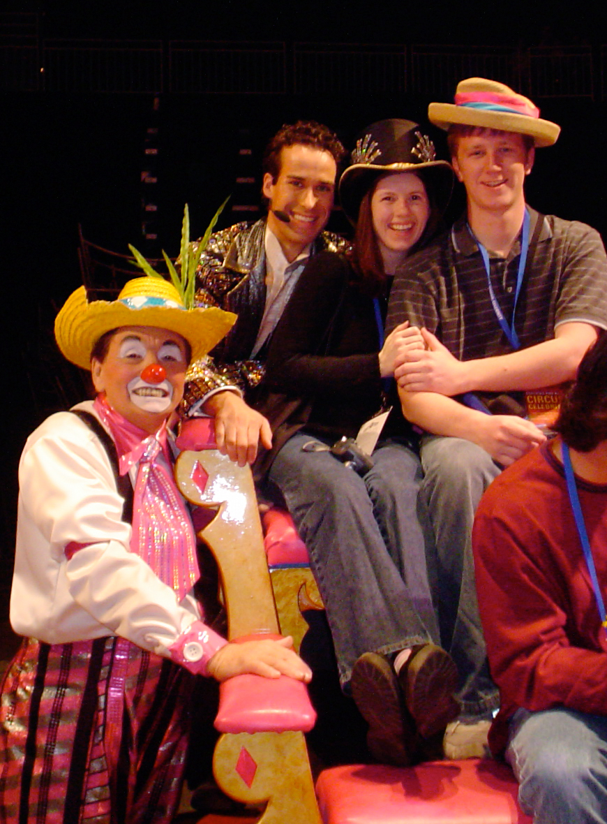 2004 - Matt & I's first Circus together.