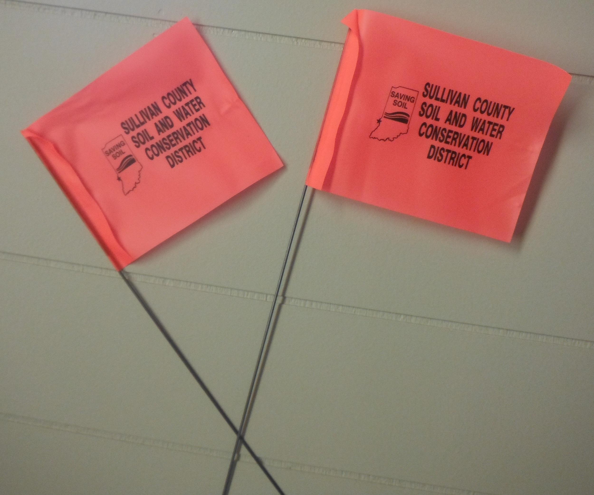Marking Flags $0.20 each or $18.00 per 100