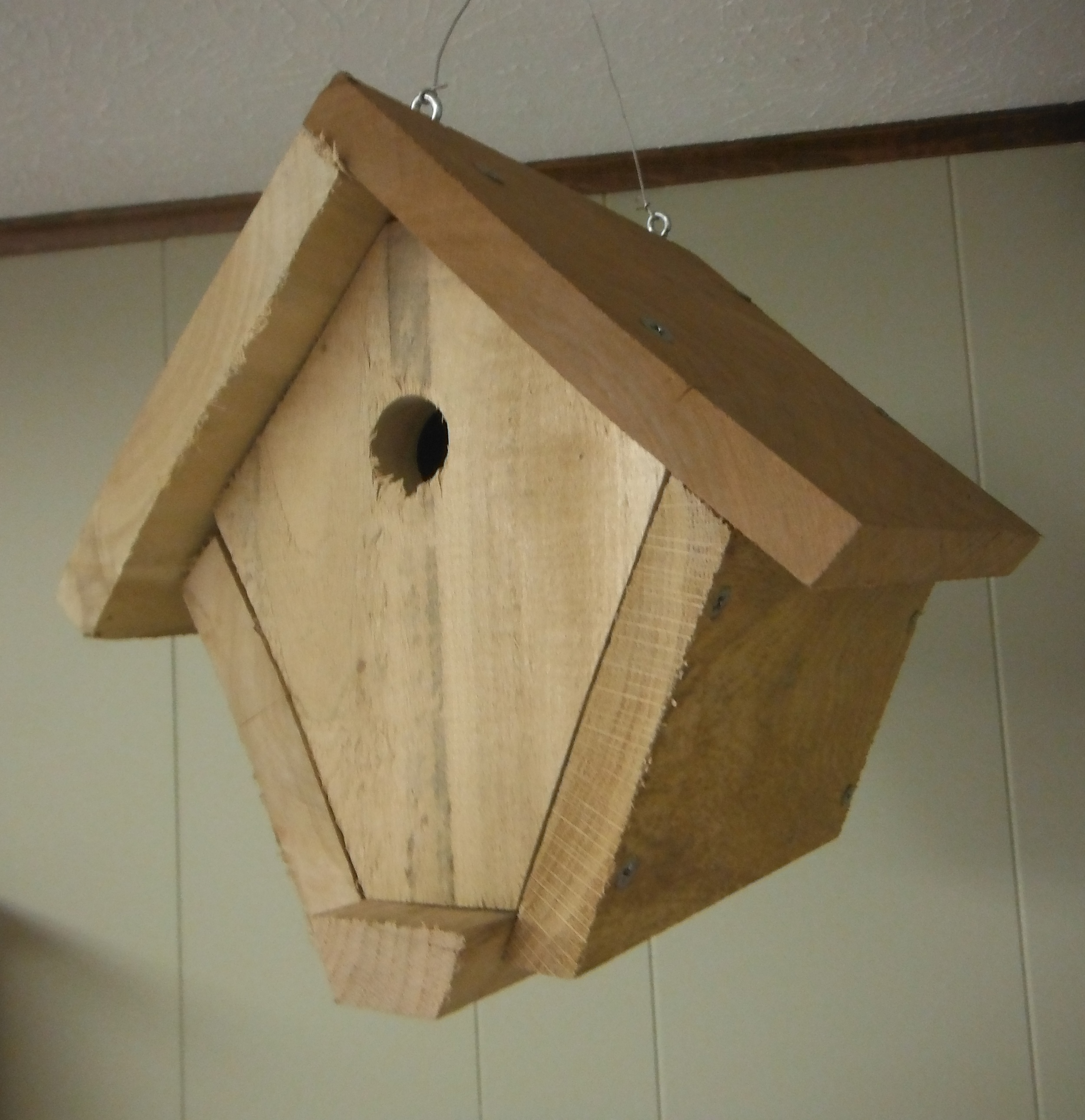 Wren House $10.00 Made by the Sullivan County Indiana Master Naturalists