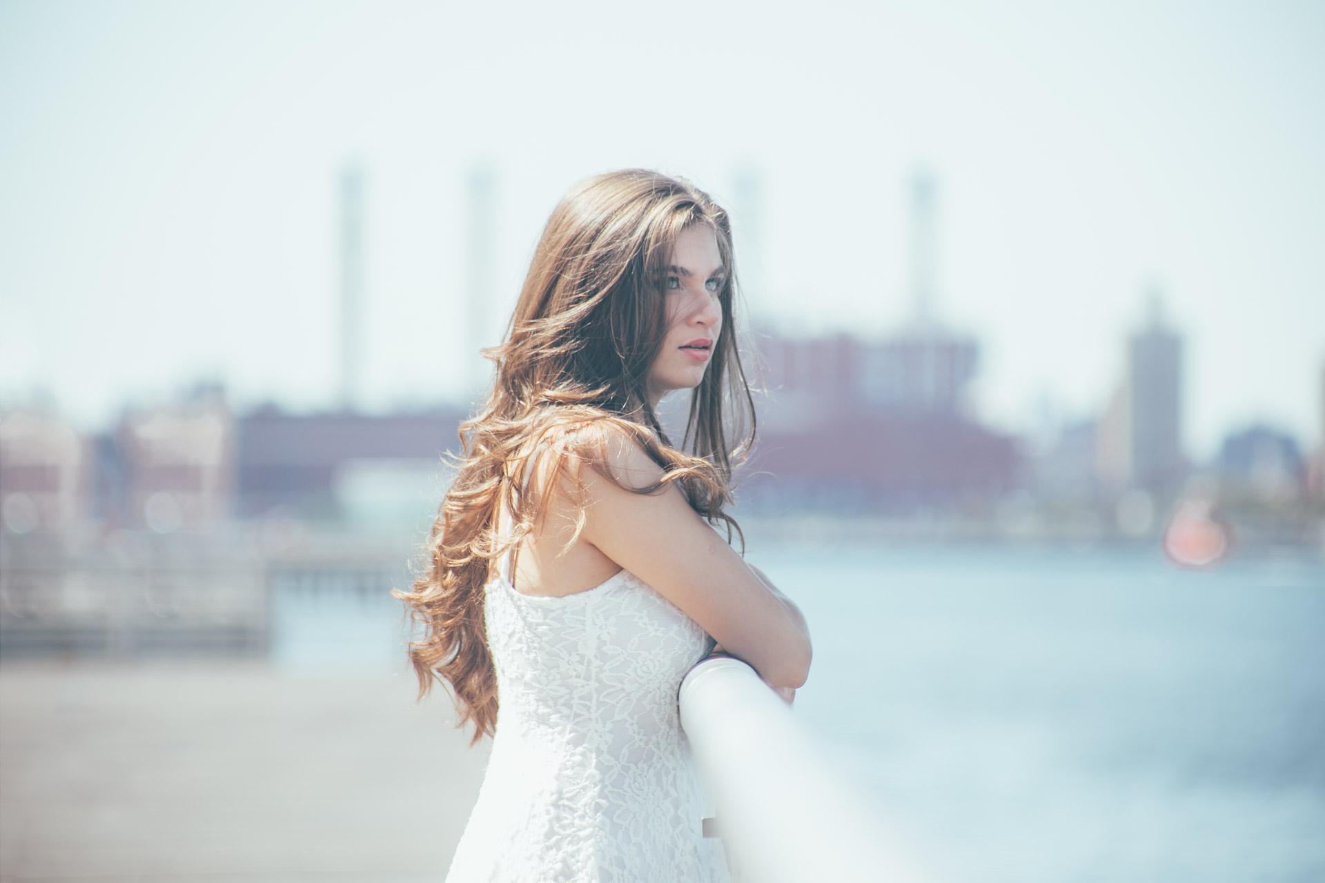 wedding photography -engagement session - lic waterfront