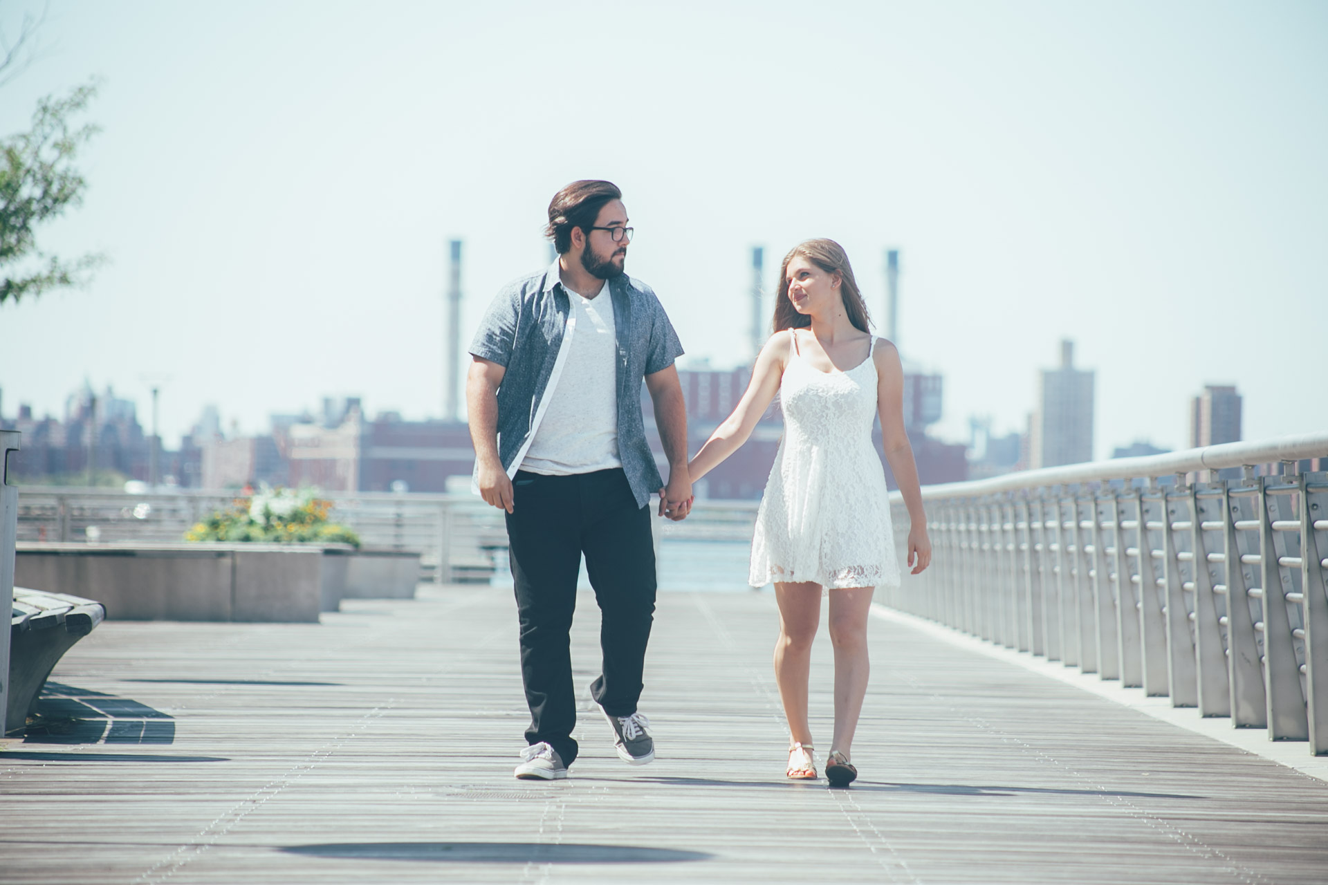 engagement session - lic waterfront