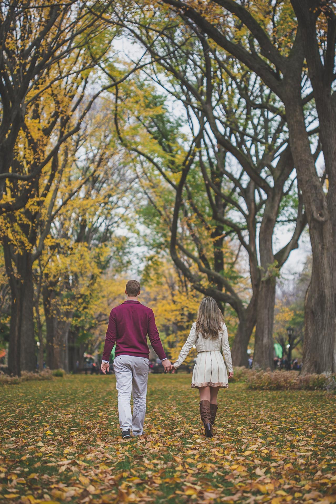 engagement session - central park