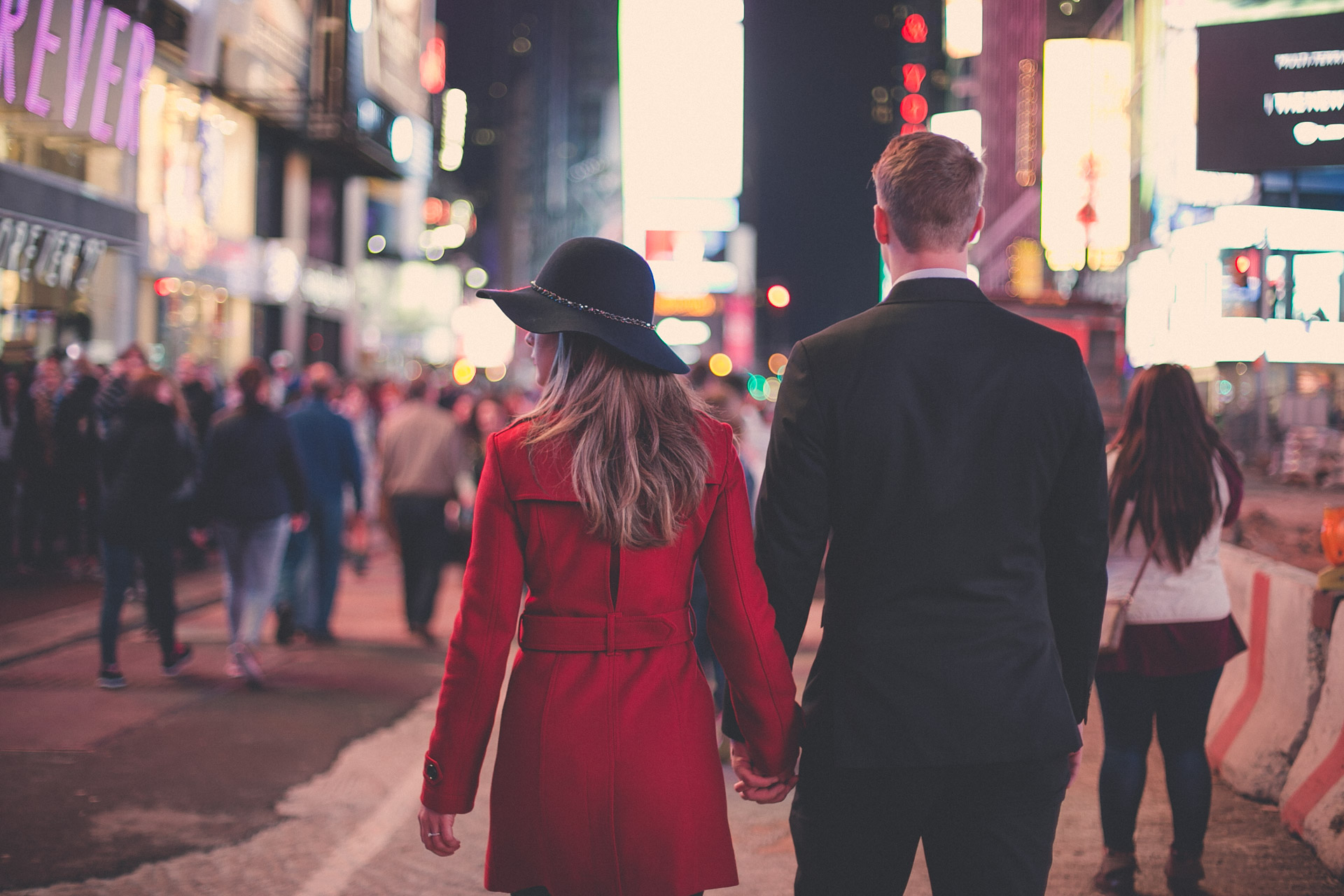 engagement session - times square