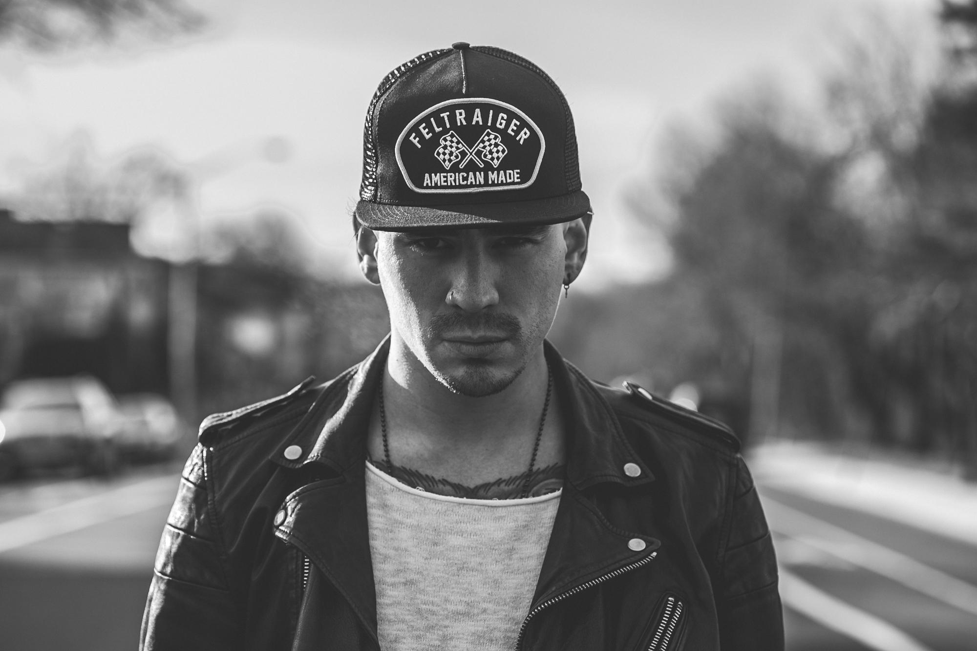 Tattoos - Leather Jacket - Cafe Racer - Feltraiger