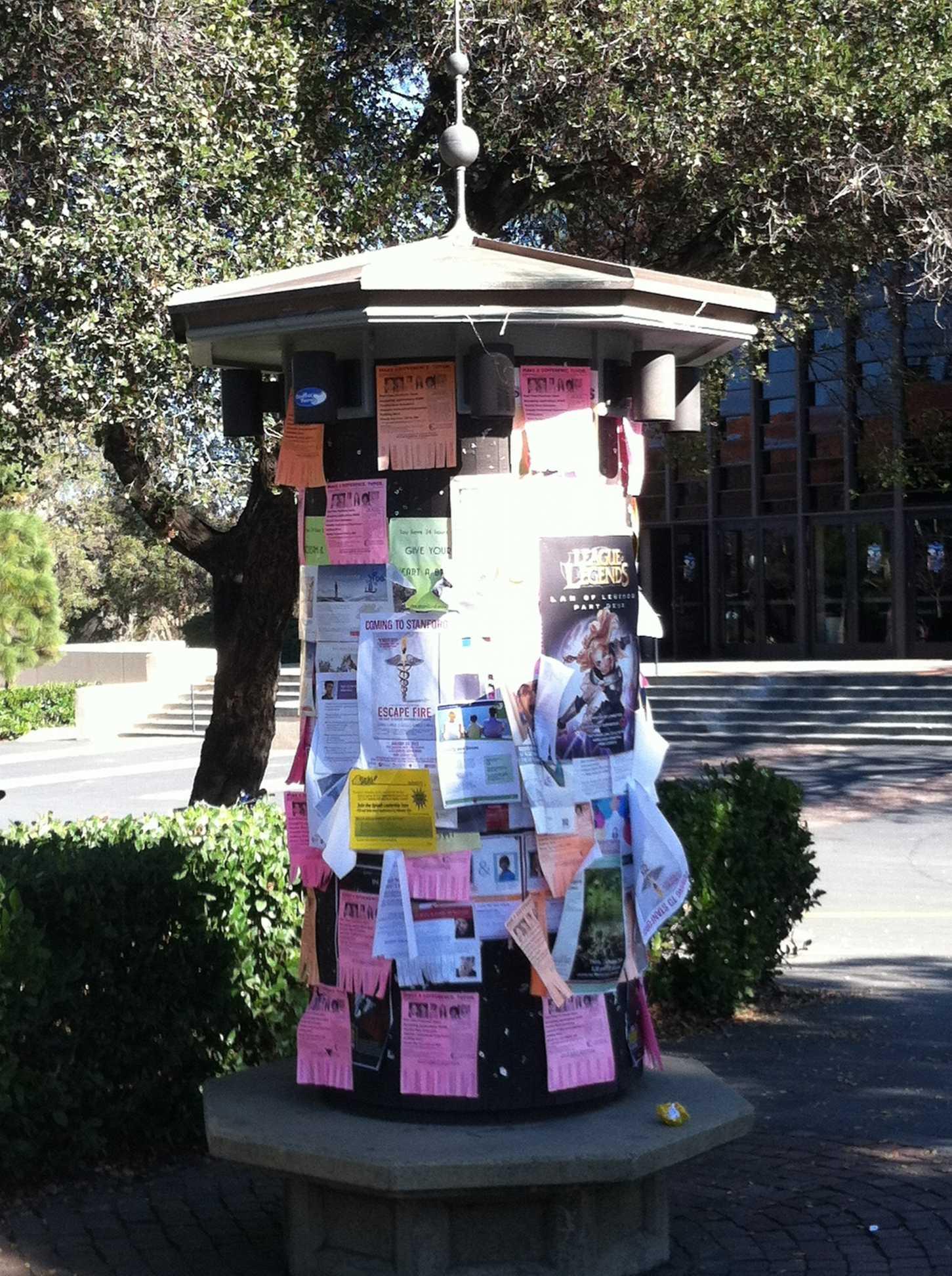 information sharing on university campus....