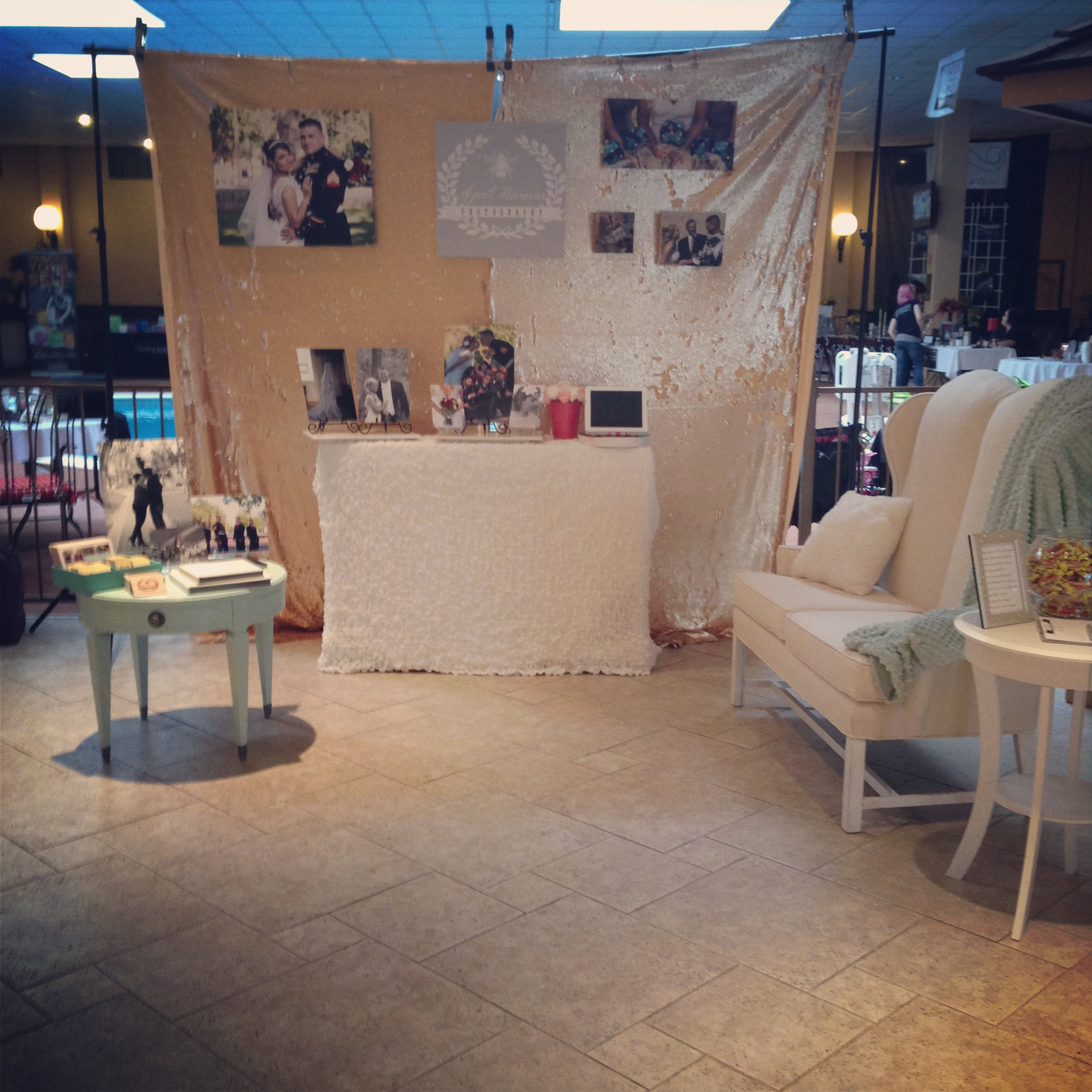This is just an Instagram picture of my booth I had but I loved it!