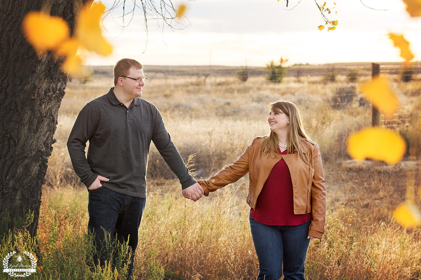 Engagement photography Garden city ks