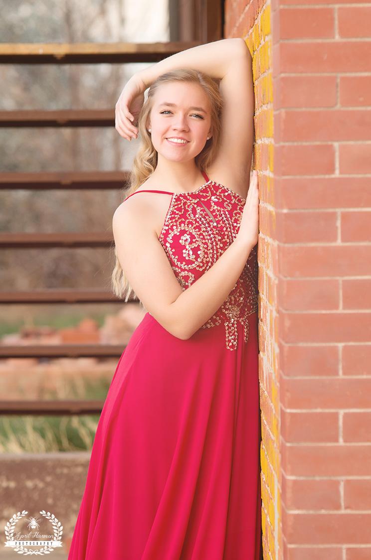 Deerfield KS Senior photography