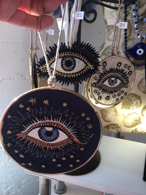 "Little EYE decor pieces for my ""Eye Corner"" of the store!"