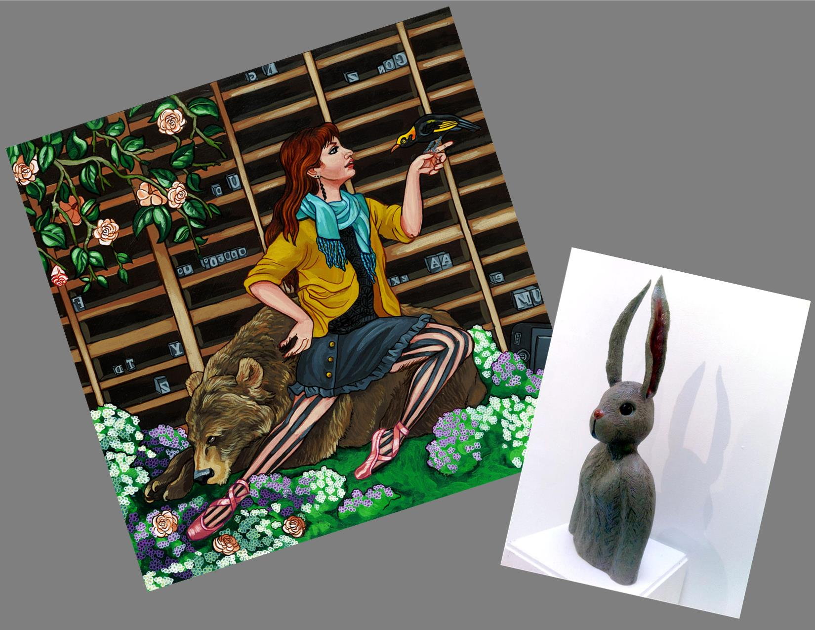 Calespso by Rachel Smith & Francesca Bunny by Molly Brown
