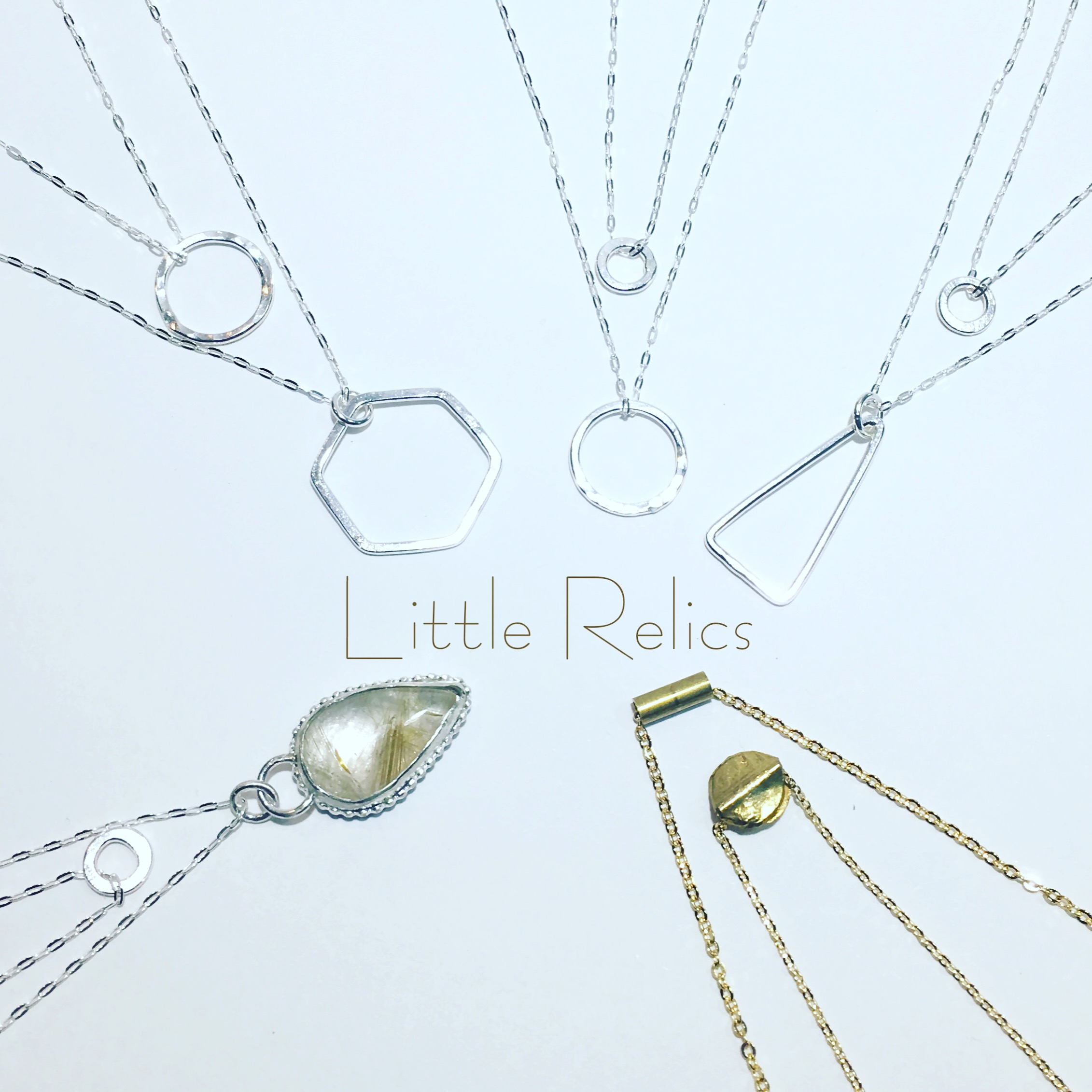 Mix and match layered necklaces