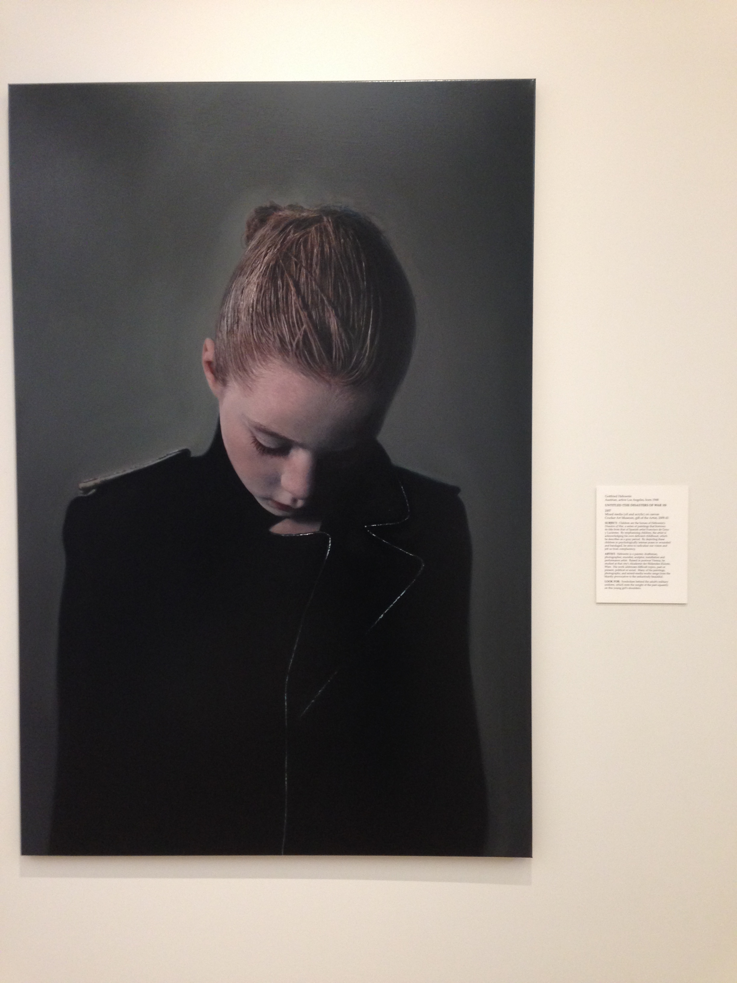 Untitled (The Disasters of War 10) , Gottfried Helnwein (1948- )