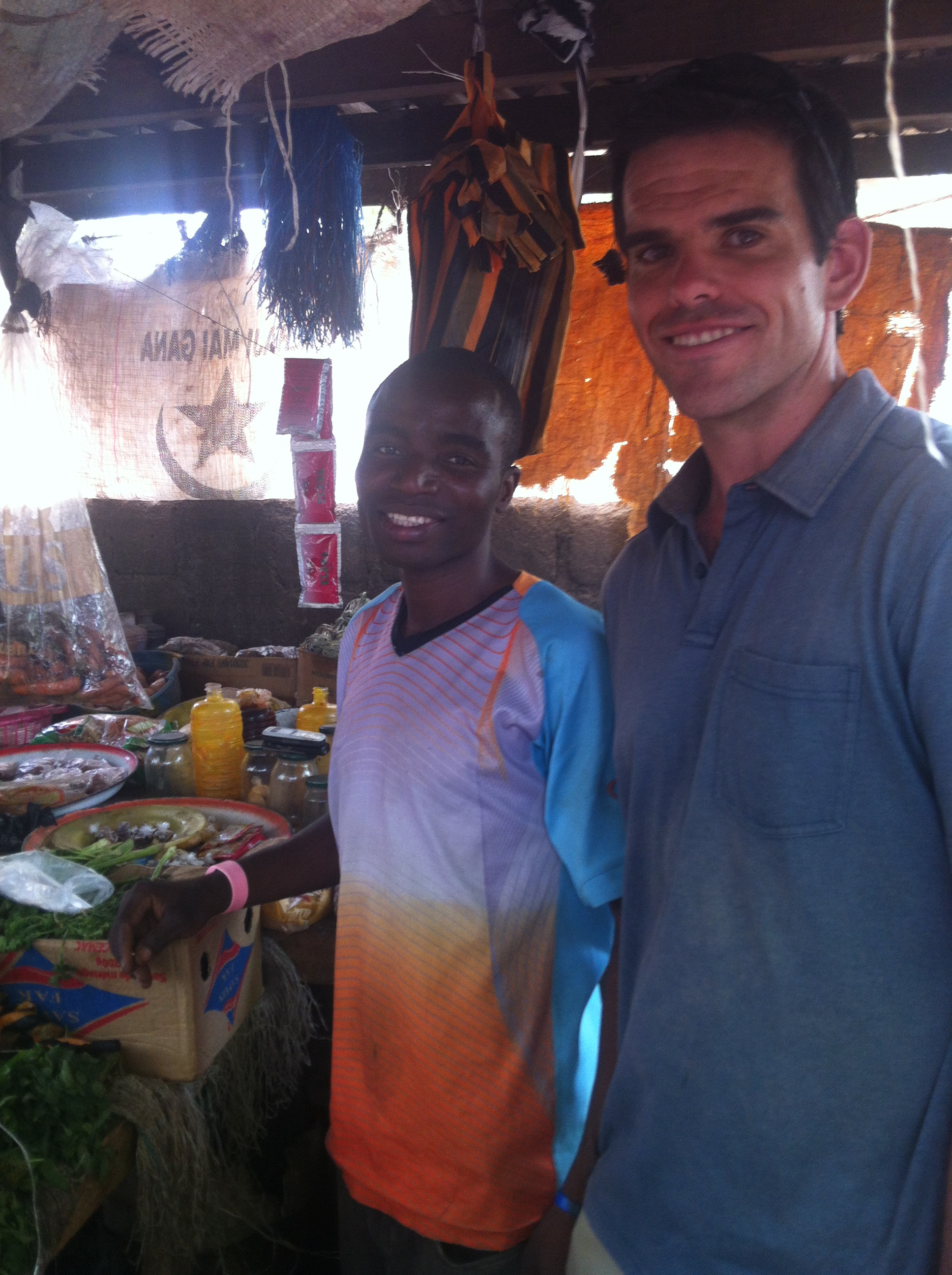 At the Friday market in Guider