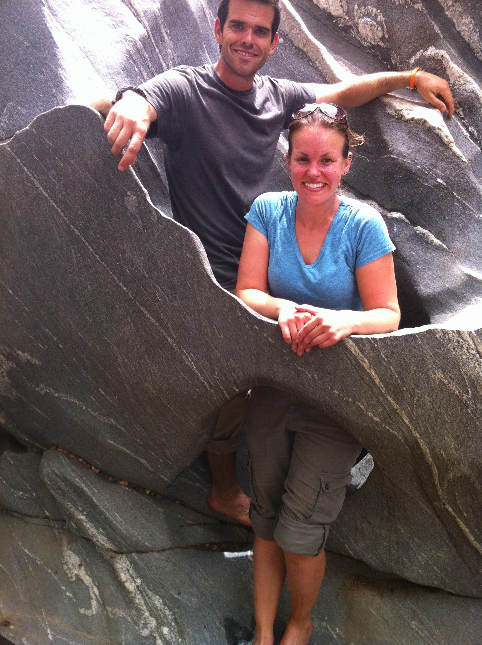 At Gorge de Kola, Guider
