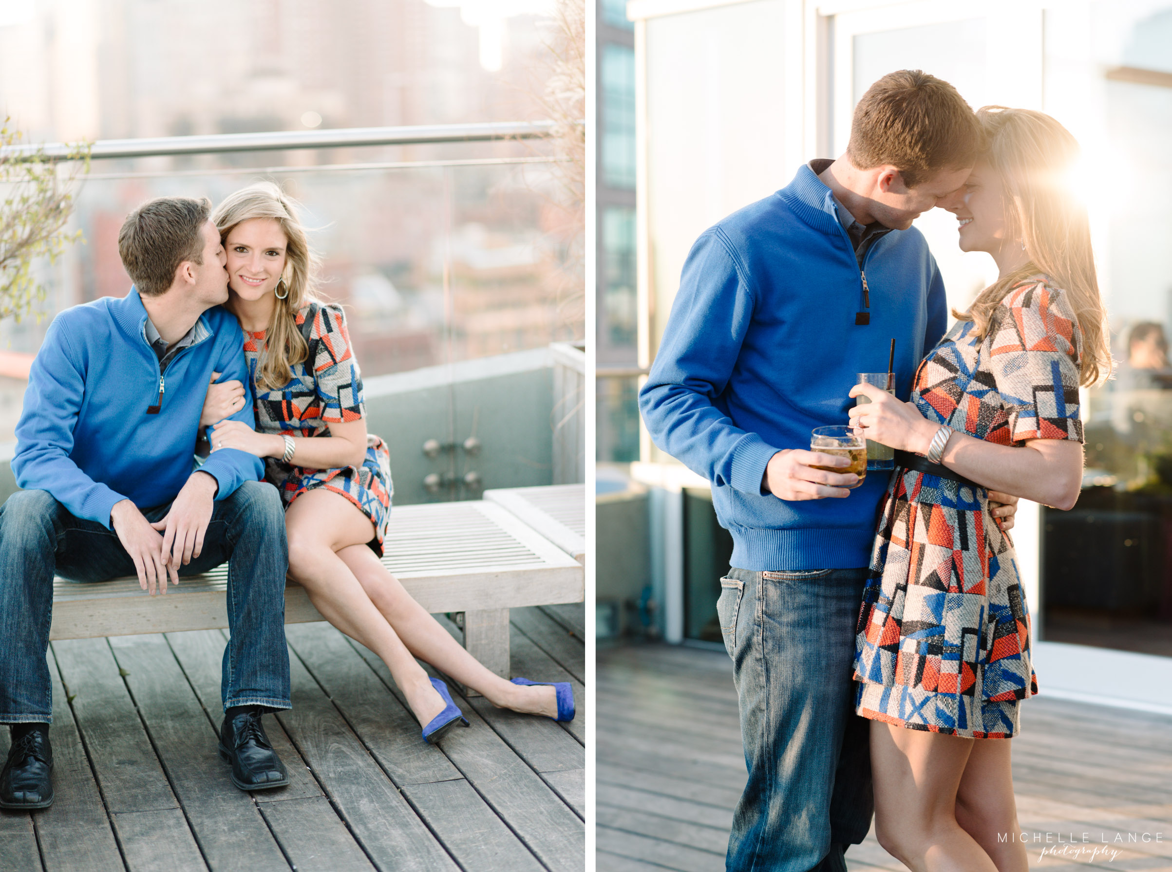 James Hotel Soho New York Engagement Photography