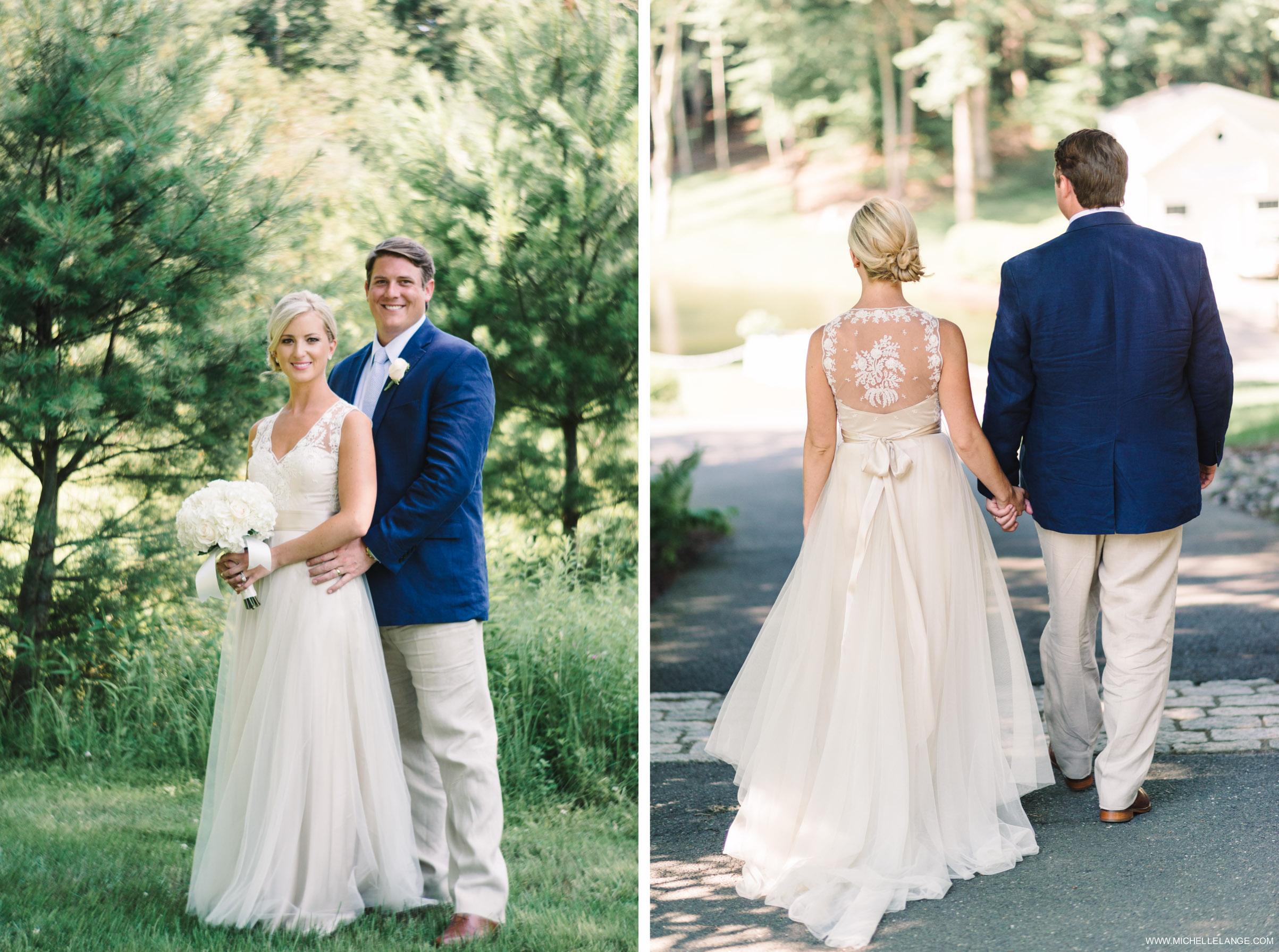 New Jersey Private Estate Backyard Wedding Photographer