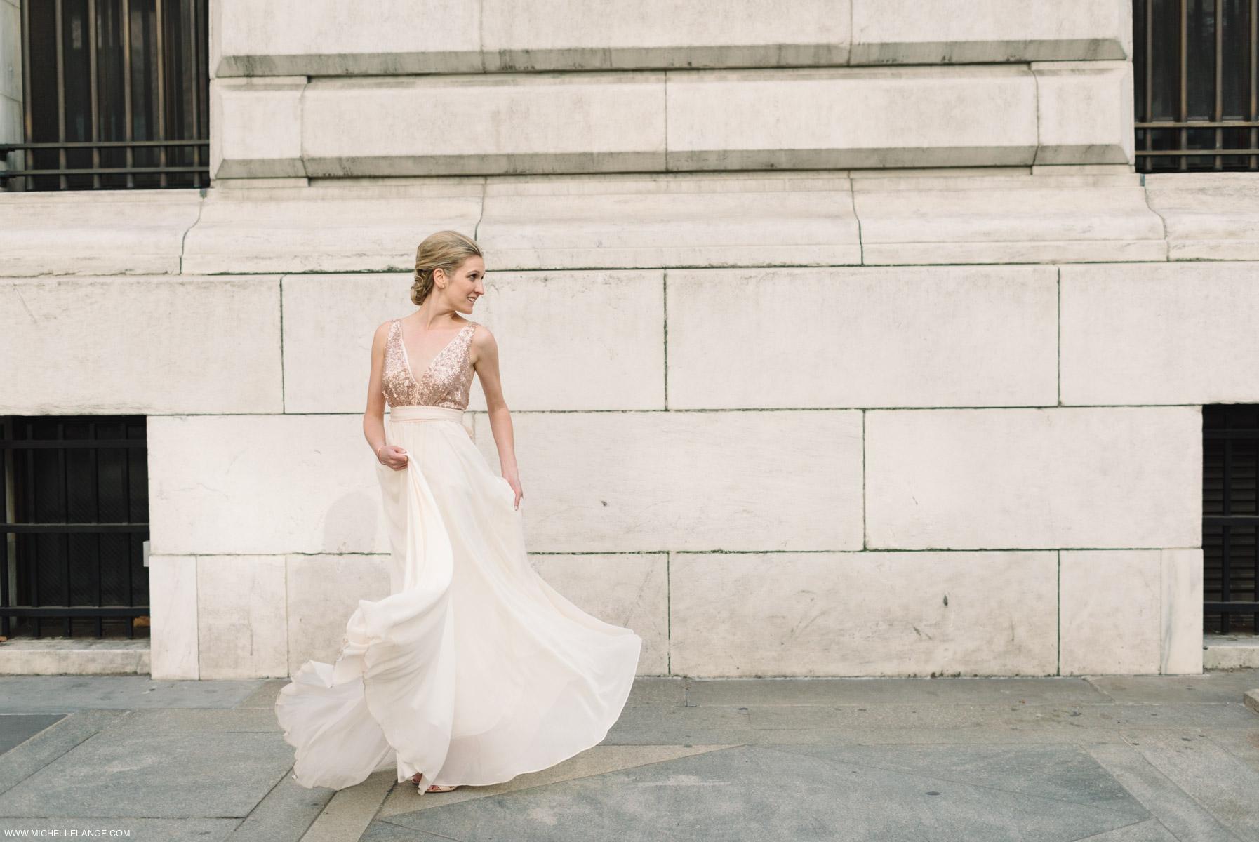 NYC New York Public Library Wedding Photographer
