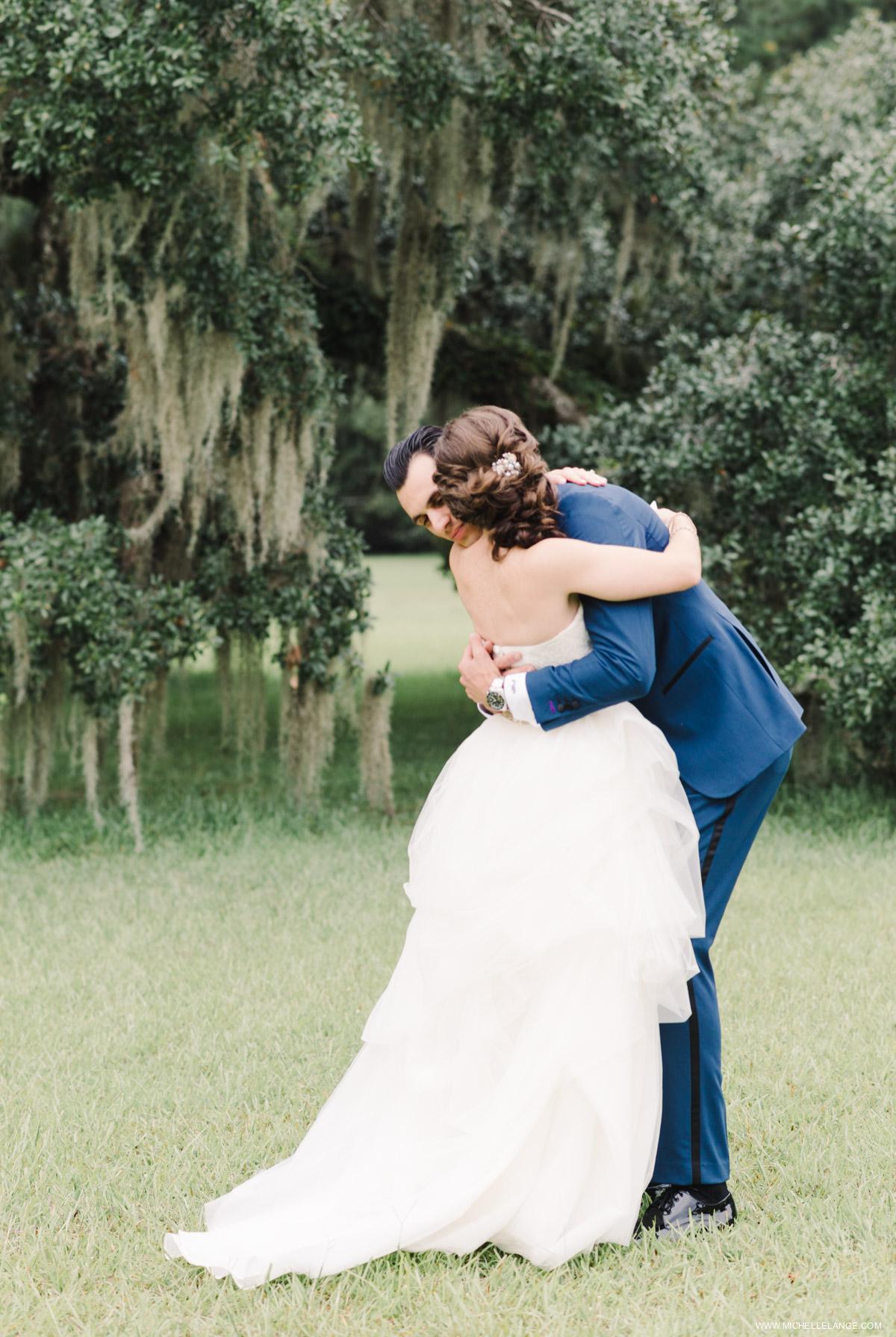 Vera Wang Runnymede Plantation Wedding Charleston