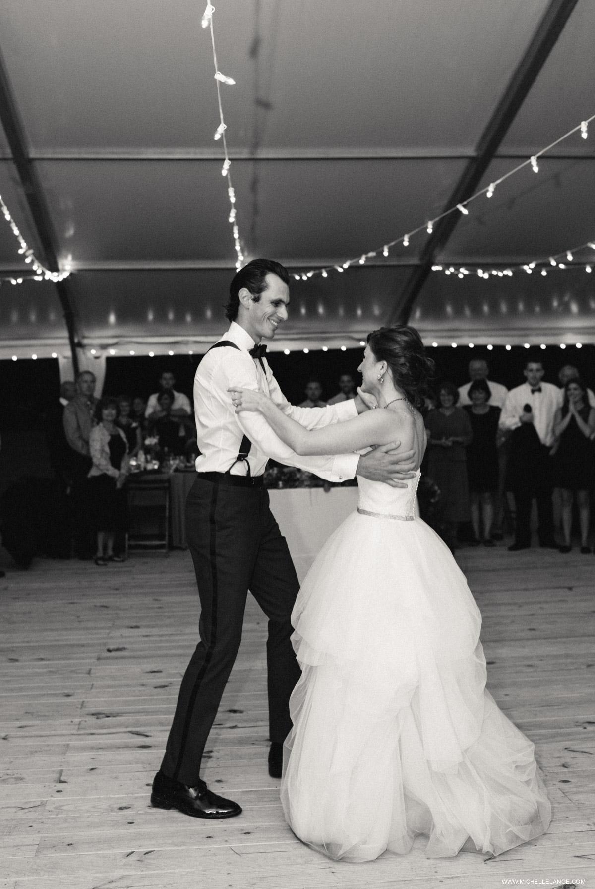 Tented First Dance Charleston Runnymede Plantation Wedding