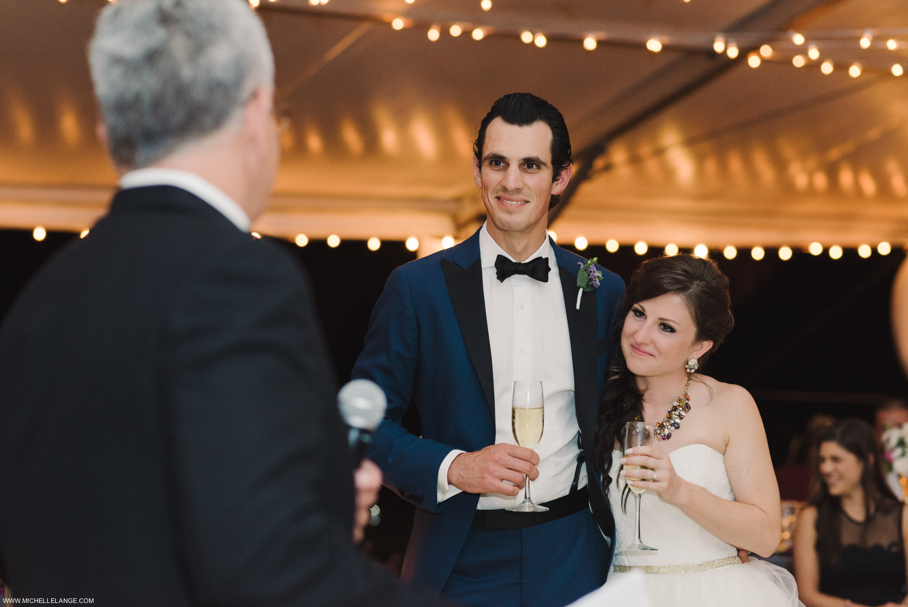 Tented Speeches Charleston Runnymede Plantation Wedding