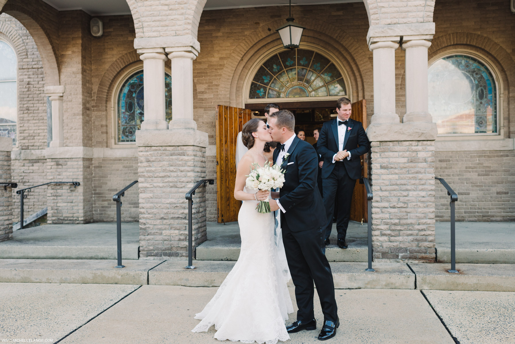 St. James Church Red Bank Riverhouse at Rumson Country Club Wedding