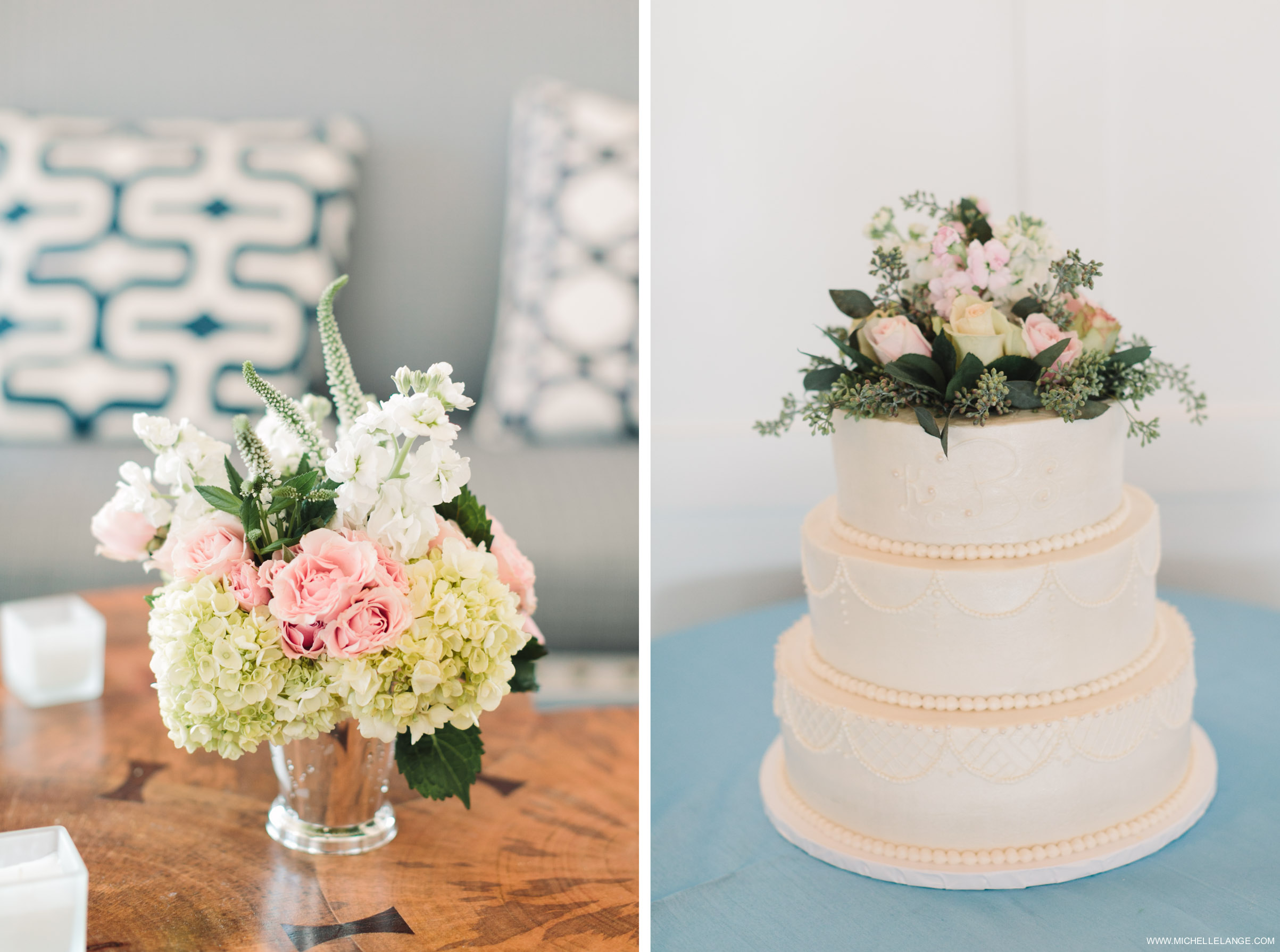 Cake and Details Riverhouse at Rumson Country Club Wedding