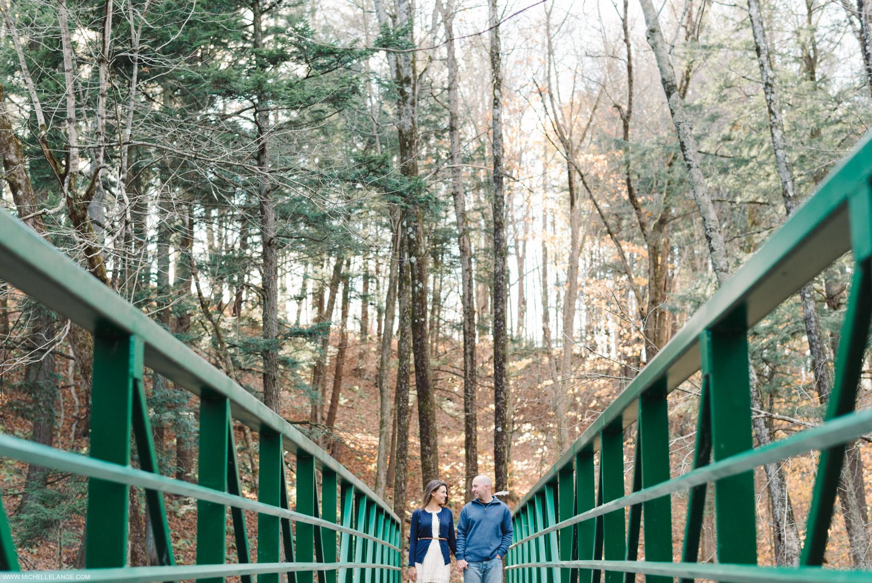 Upstate New York Fall Engagement Photographer