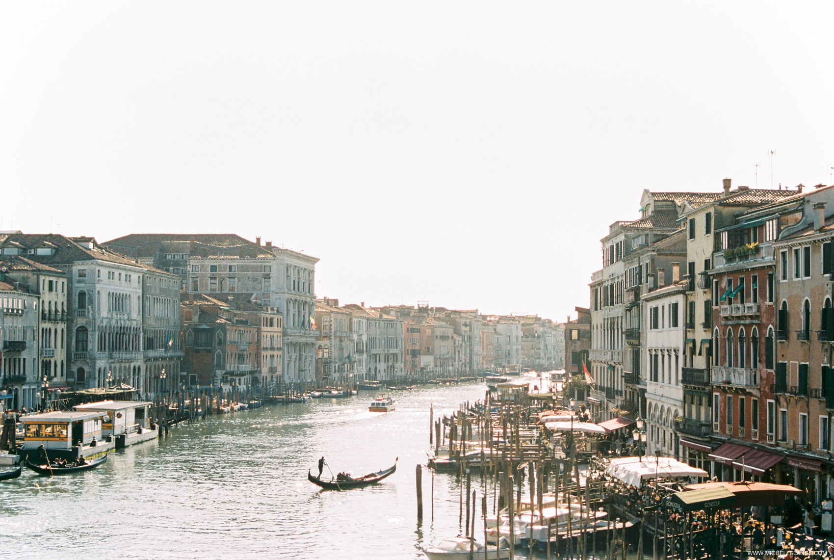 Venice Travel Photography - Grand Canal at Sunset