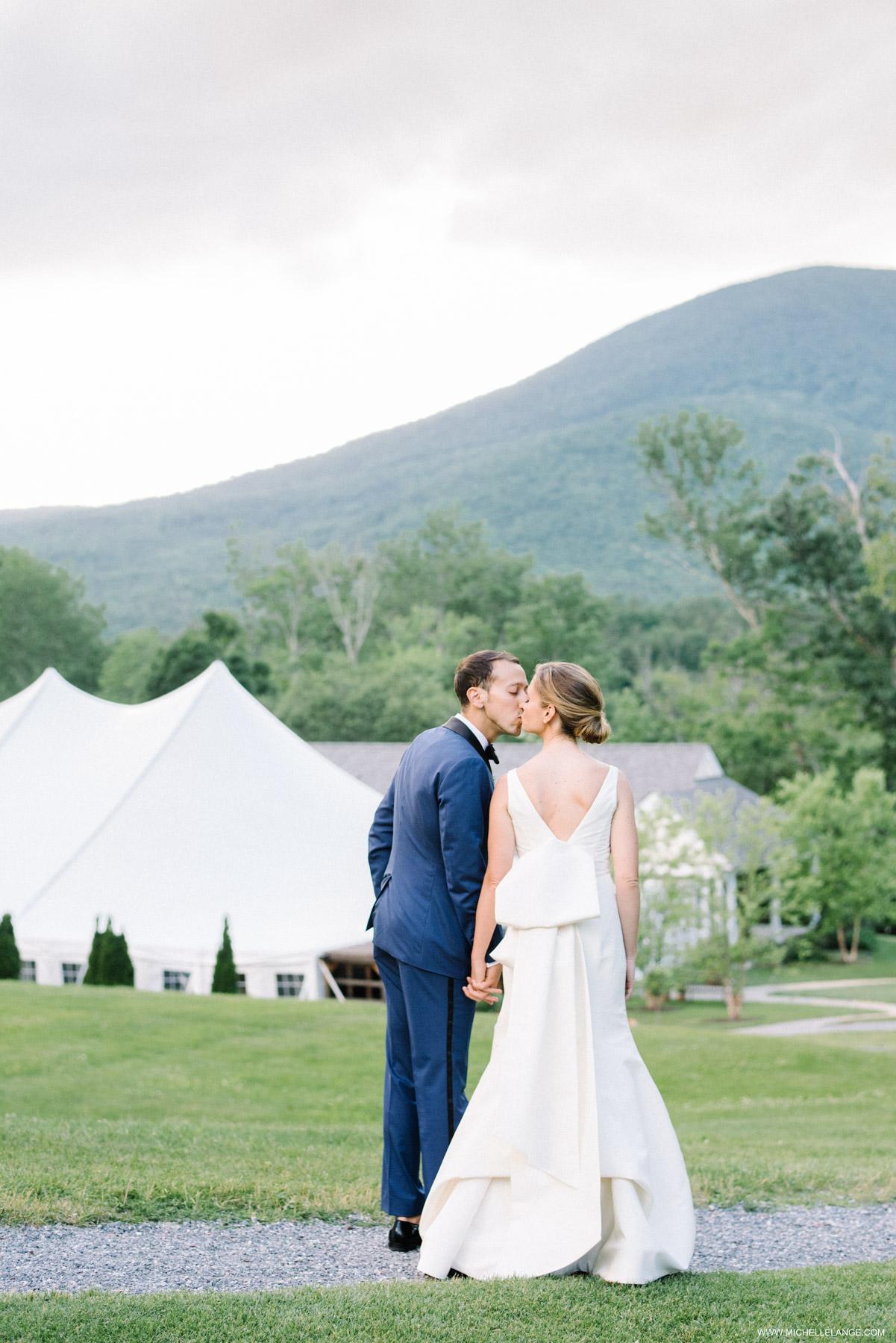 Hildene Estate Wedding in Manchester Vermont