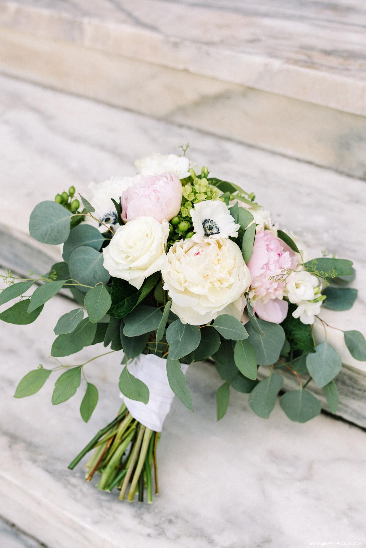Wedding bouquet in Manchester Vermont