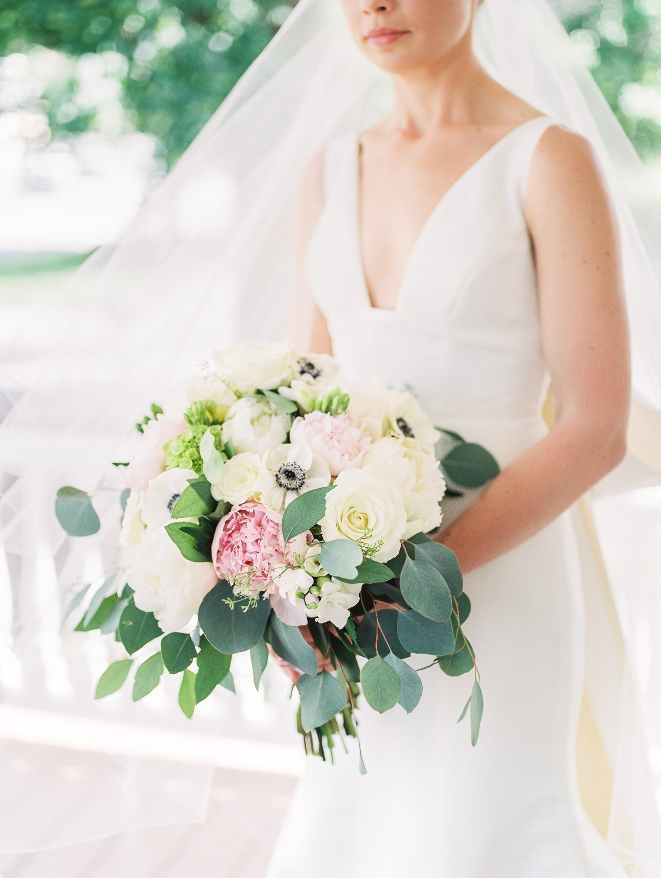 Manchester Vermont Wedding Lily of the Valley Floral Design