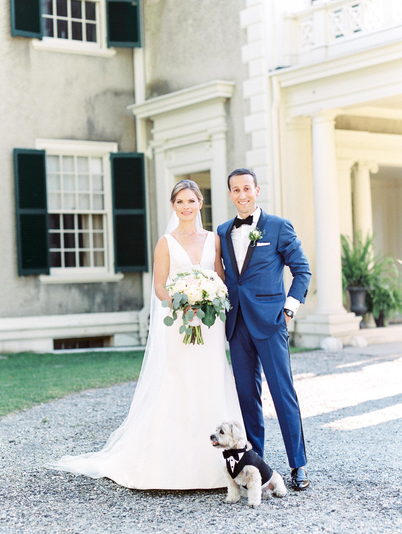 Manchester Vermont Wedding at Hildene Estate