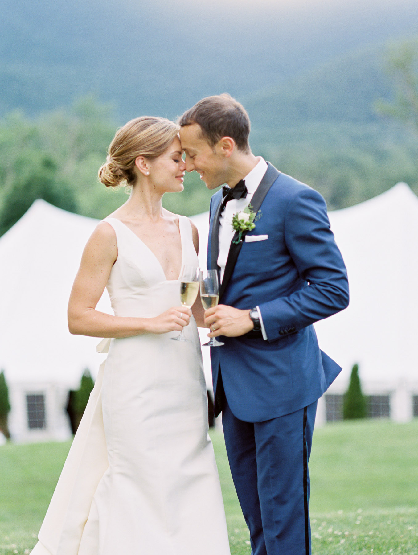Manchester Vermont Wedding Hildene Estate portraits