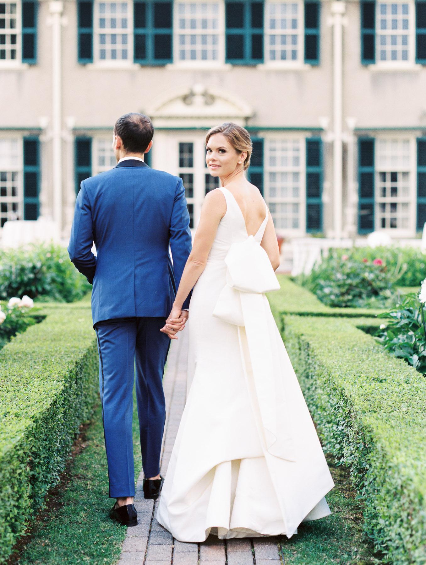 Manchester Vermont Wedding Stunning Bride with Groom