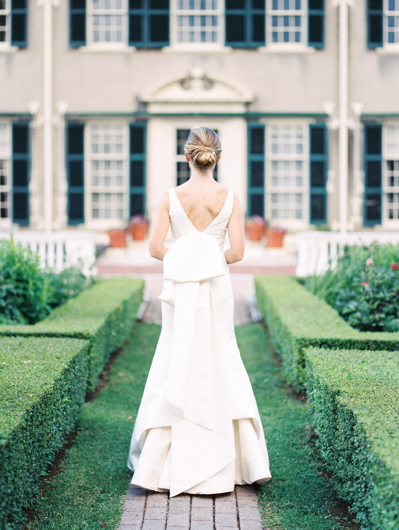 Manchester Vermont Wedding Carolina Herrera Dress