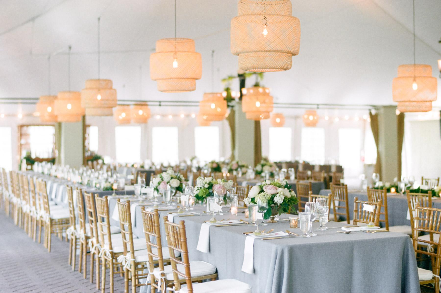 Manchester Vermont Wedding Hildene Estate Reception Tent Details Ikea Lanterns