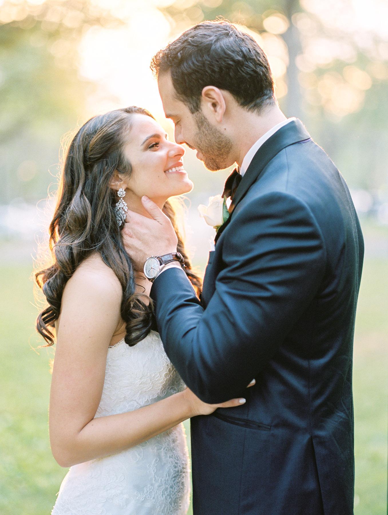 Sunset Wedding Photo at The Carltun