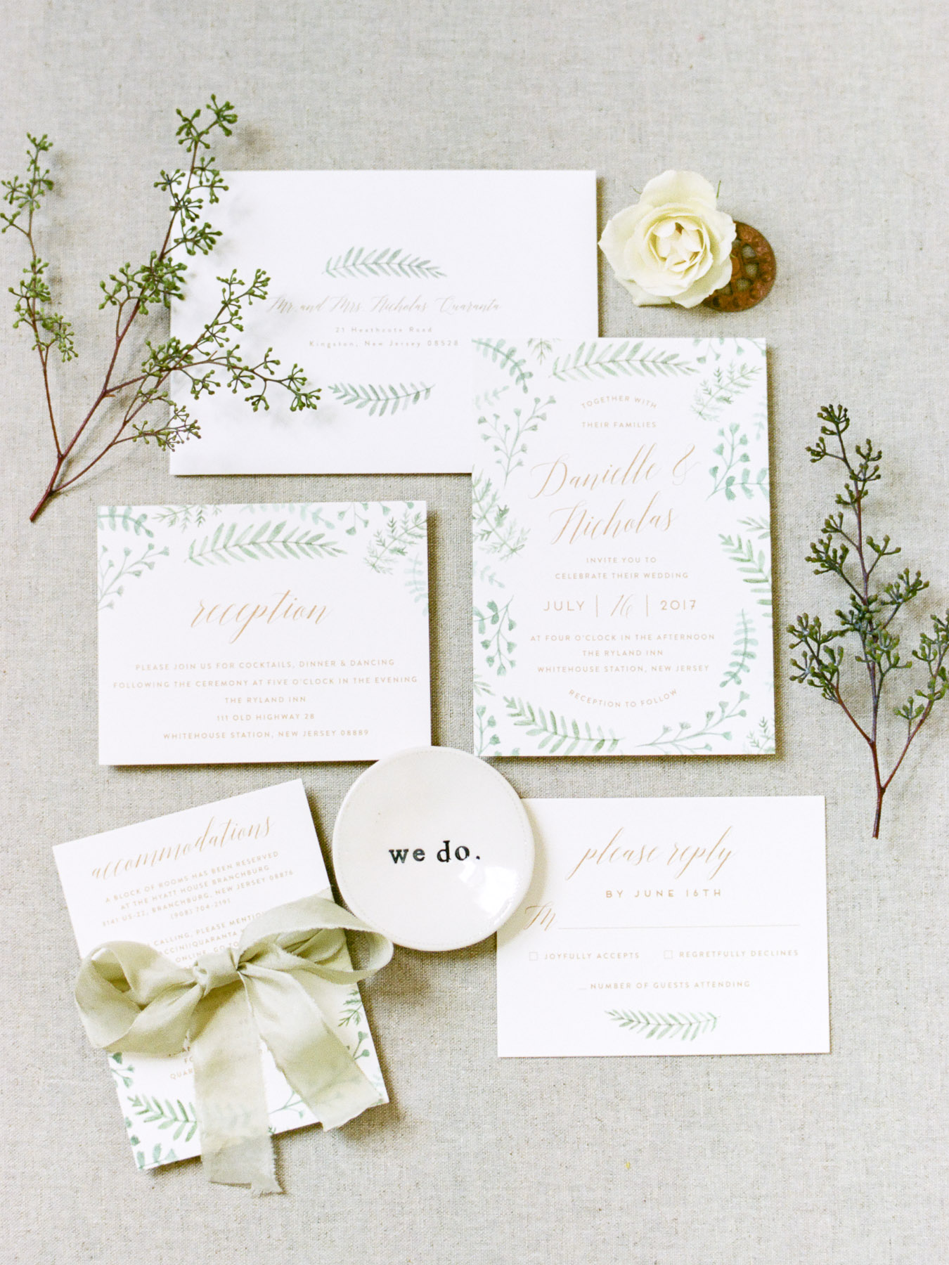 Wedding Invitation Suite from Minted