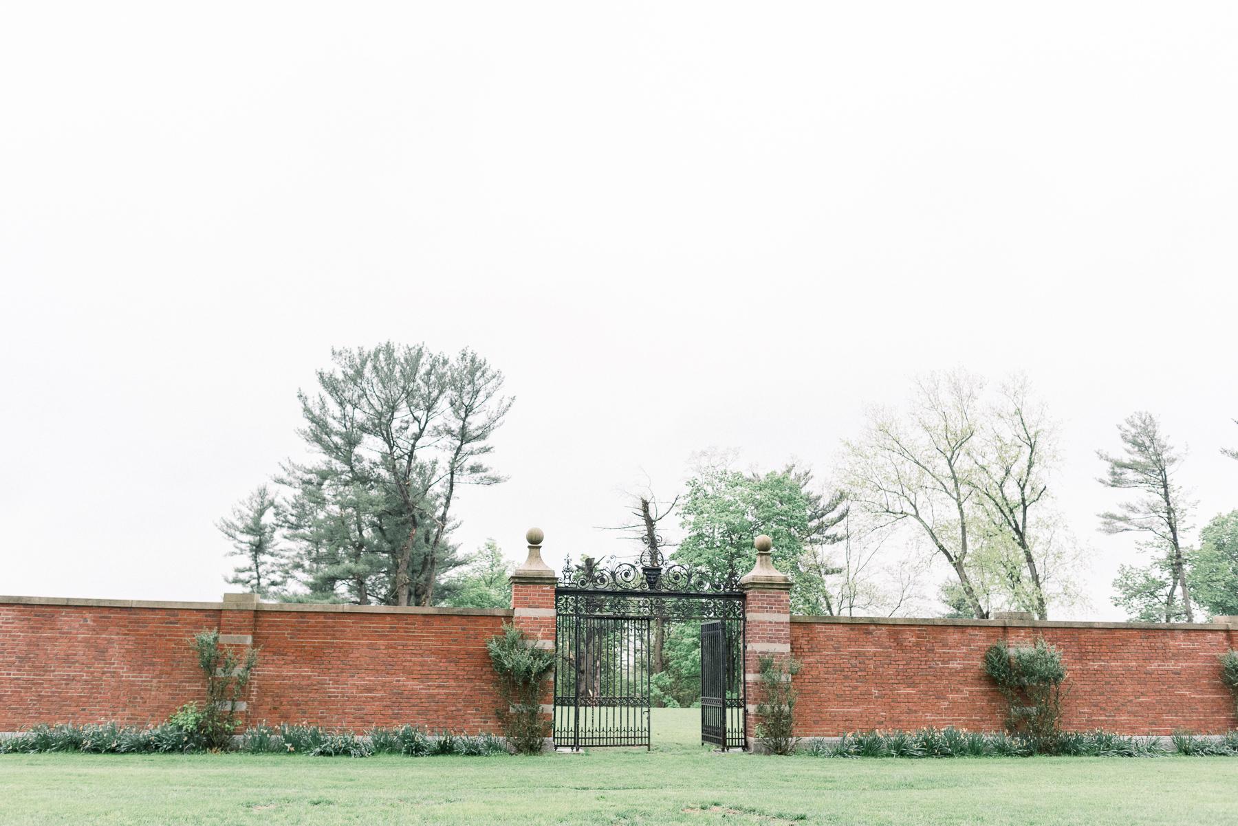 Natirar Mansion Details in Gladstone, NJ