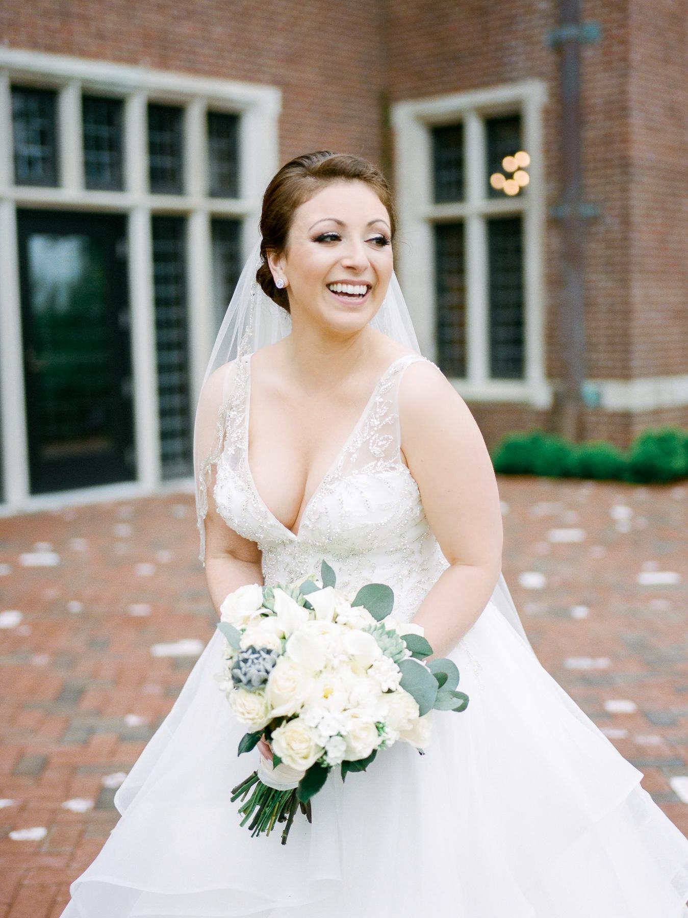 Beautiful Bride at Natirar in Gladstone, NJ