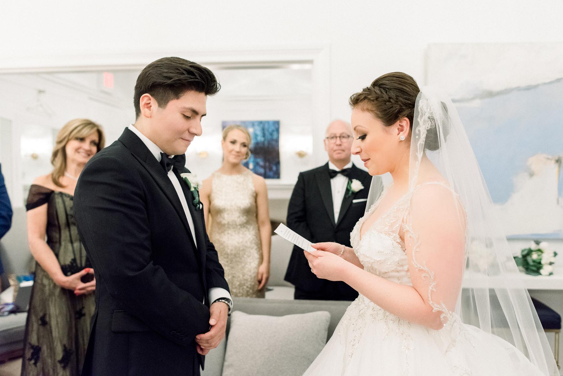 Private Vows at Natirar Mansion