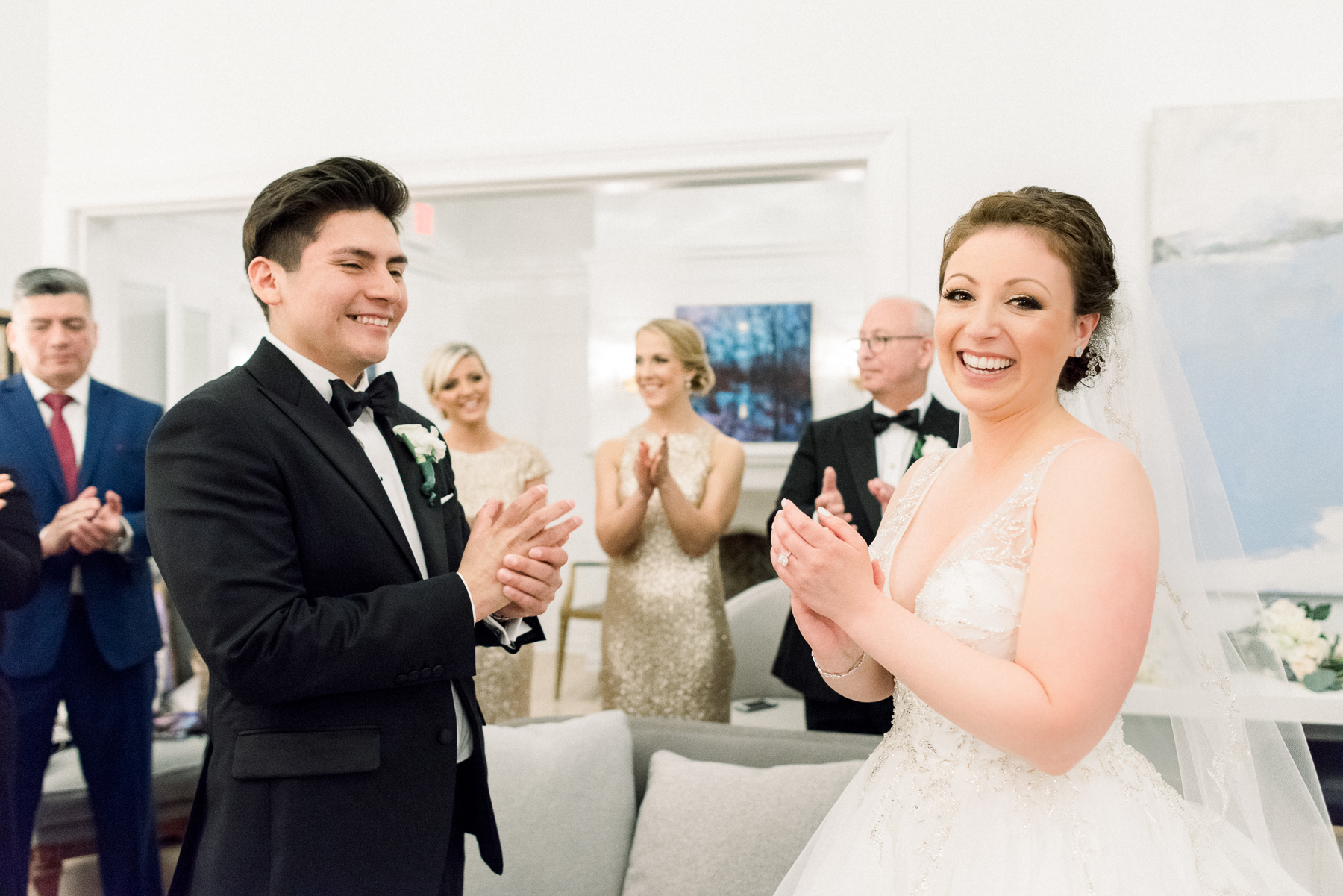 Private Vows at Wedding