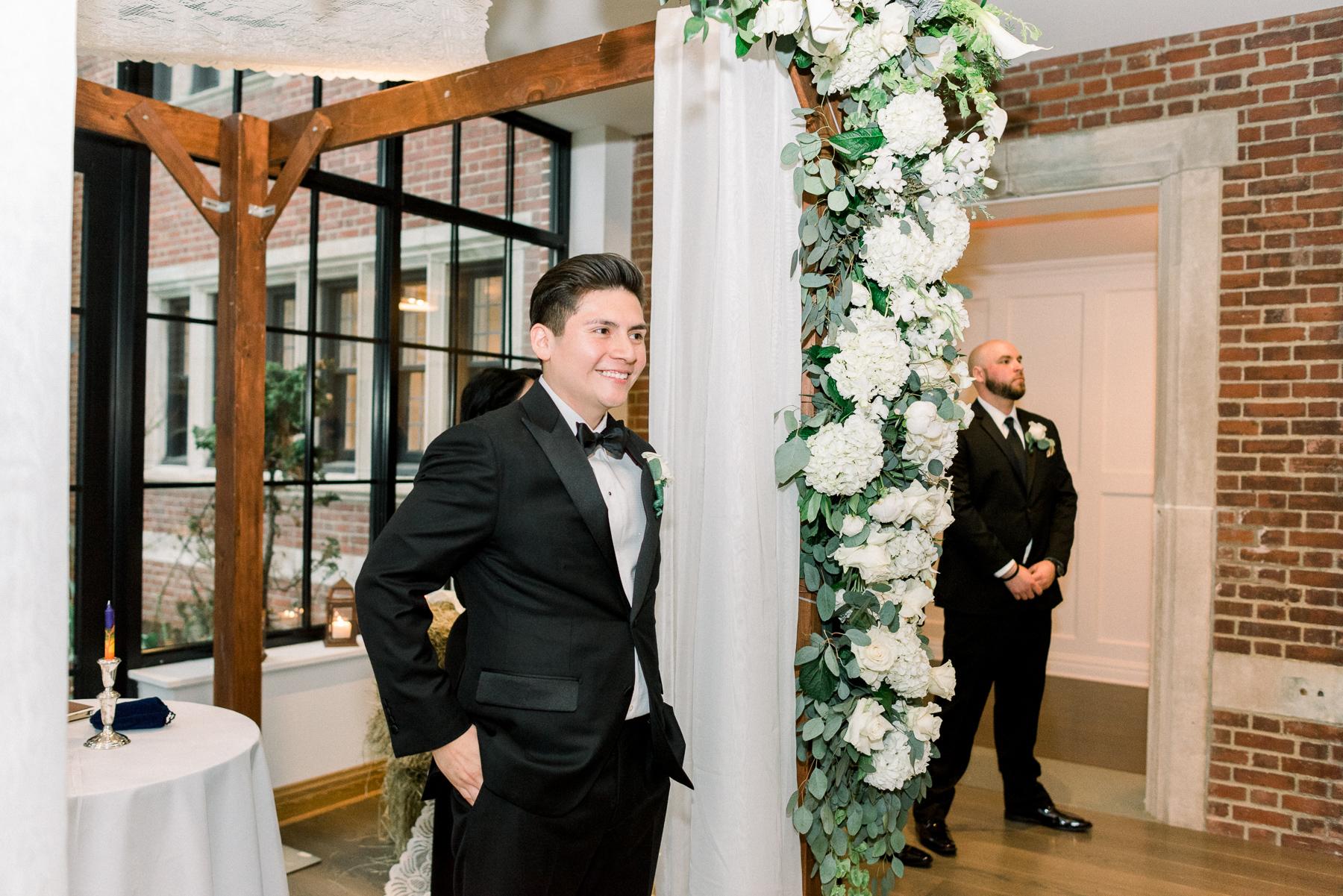 Indoor Ceremony NJ Wedding