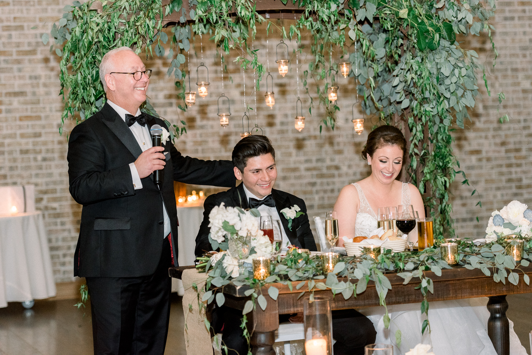 Speeches at NJ Wedding